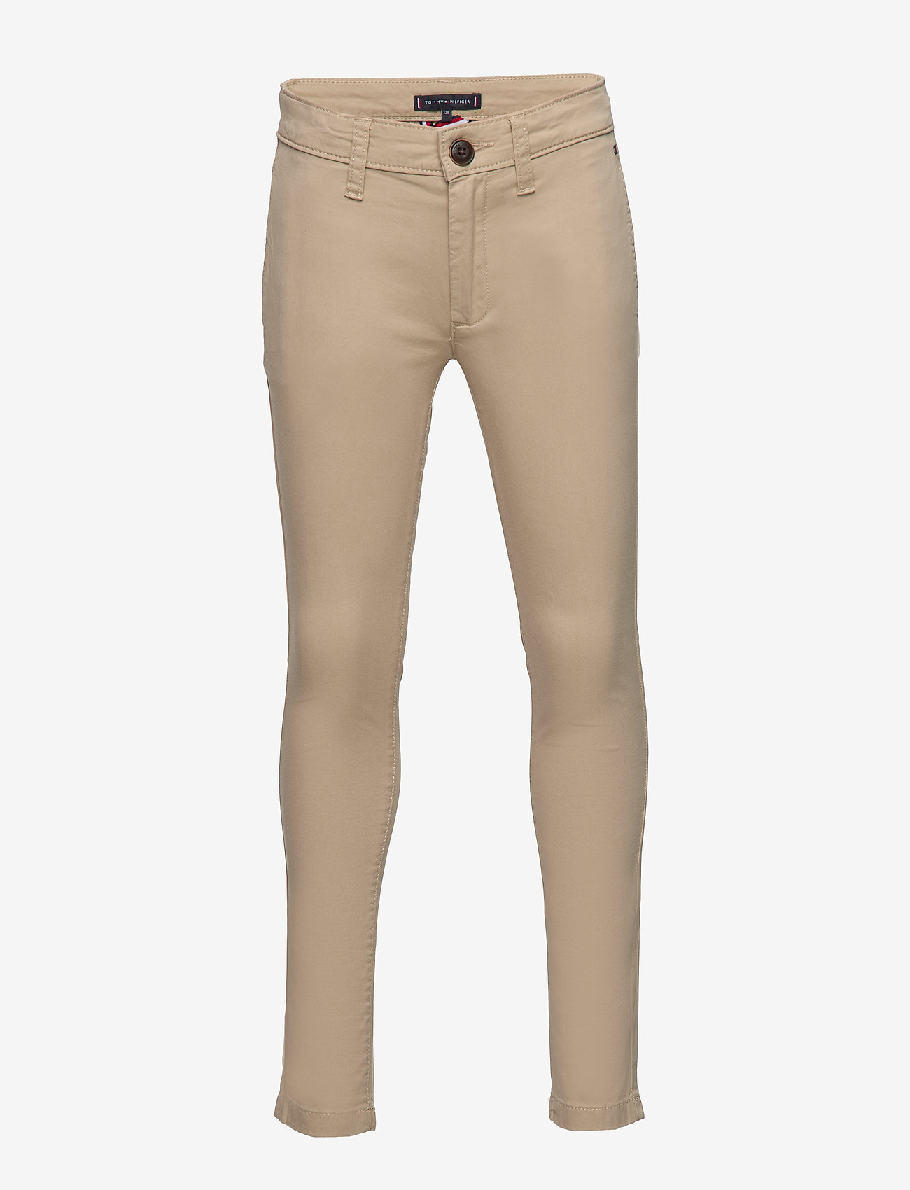 Tommy Hilfiger - ESSENTIAL SKINNY CHI - trousers - silt