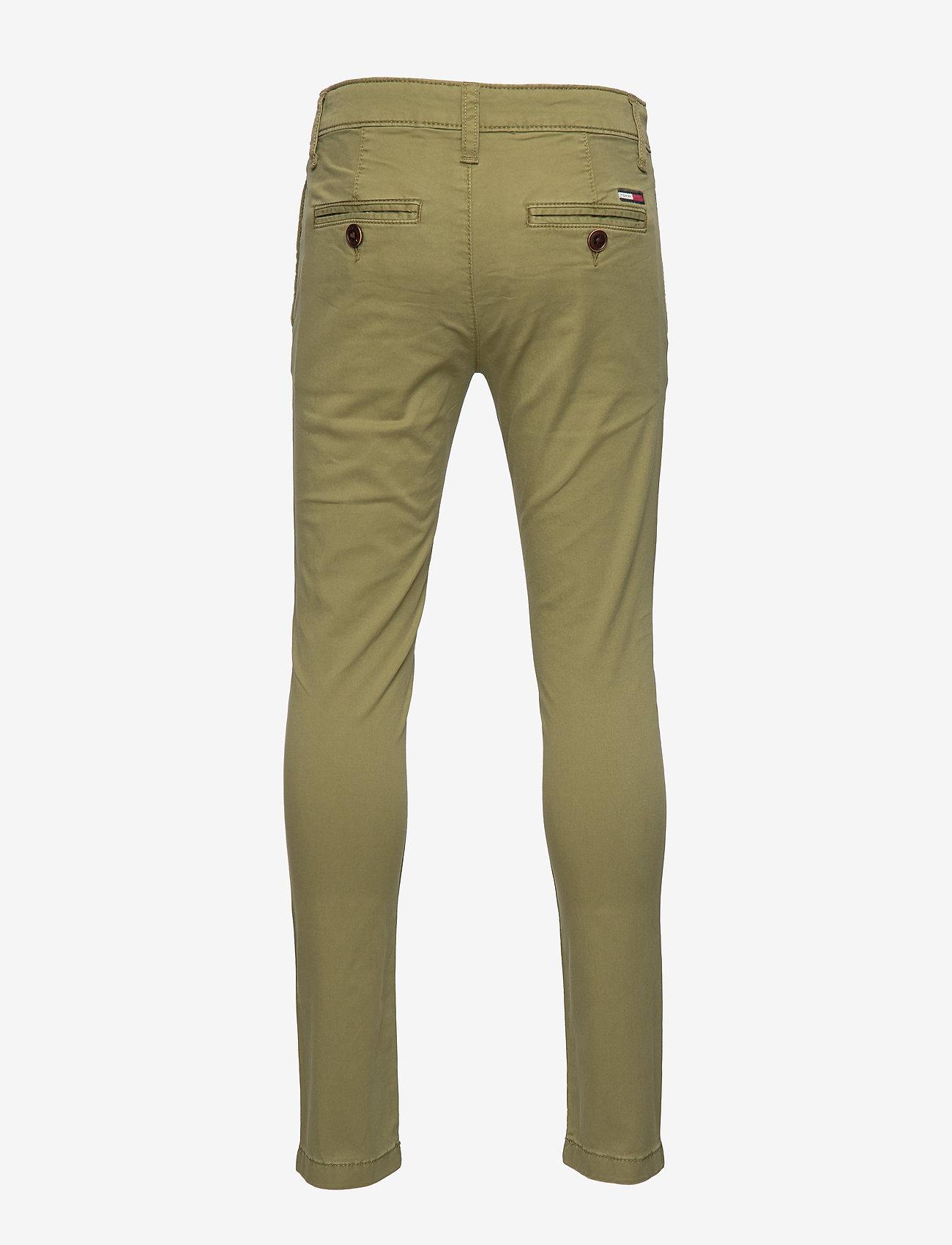 Tommy Hilfiger - ESSENTIAL SKINNY CHI - trousers - uniform olive 548-640
