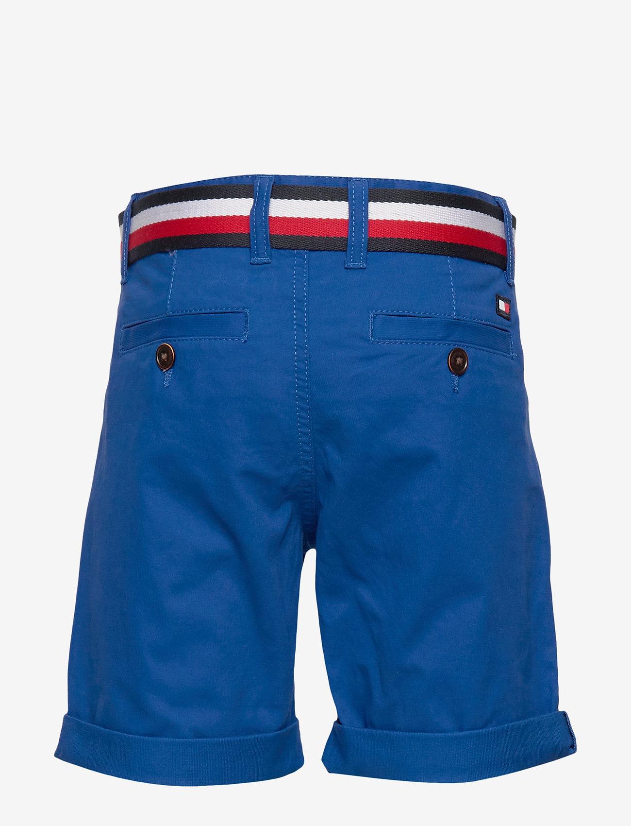 Tommy Hilfiger - ESSENTIAL BELTED CHI - shorts - lapis lazuli - 1
