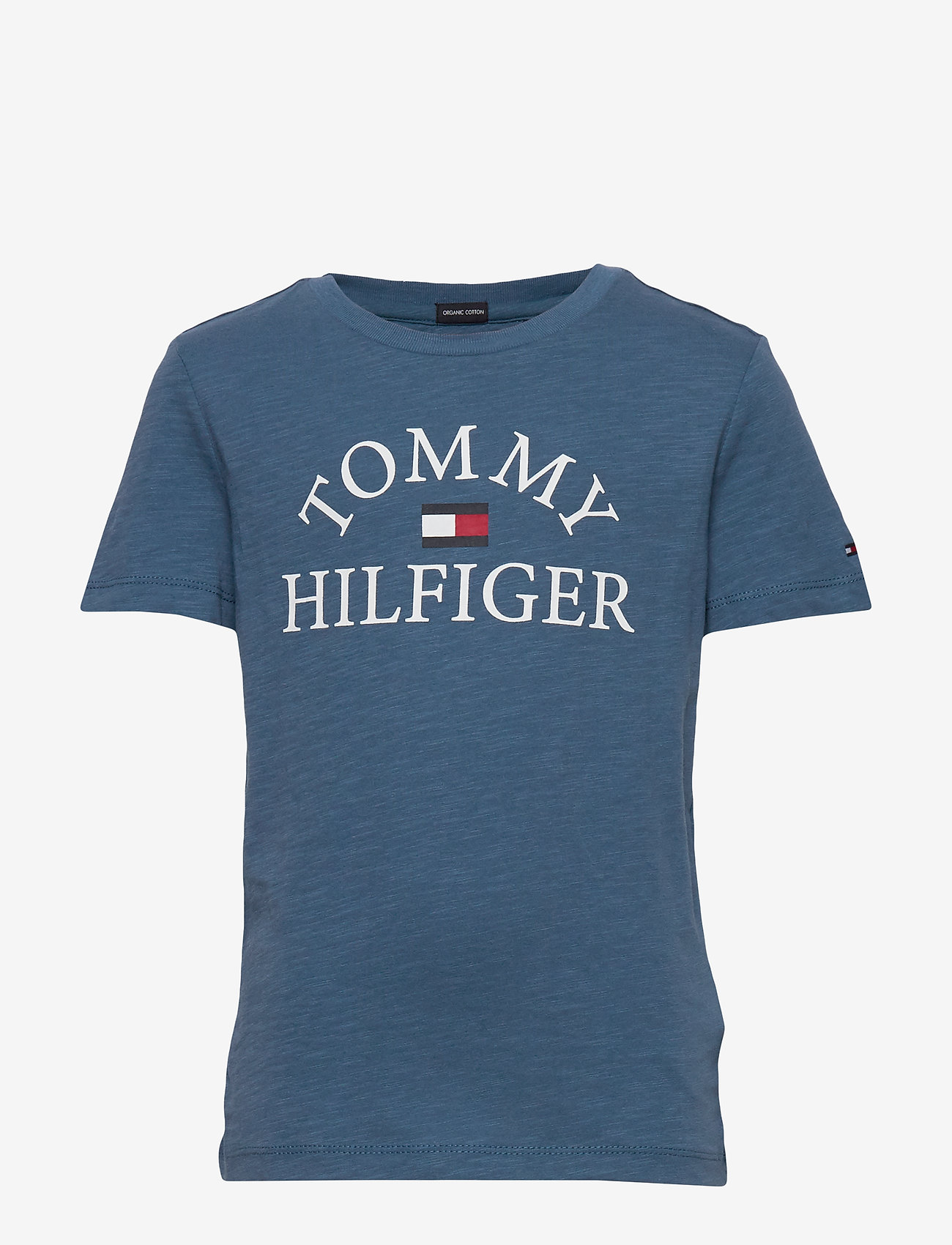 Tommy Hilfiger - ESSENTIAL LOGO TEE S - short-sleeved - audacious blue 329-710 - 0
