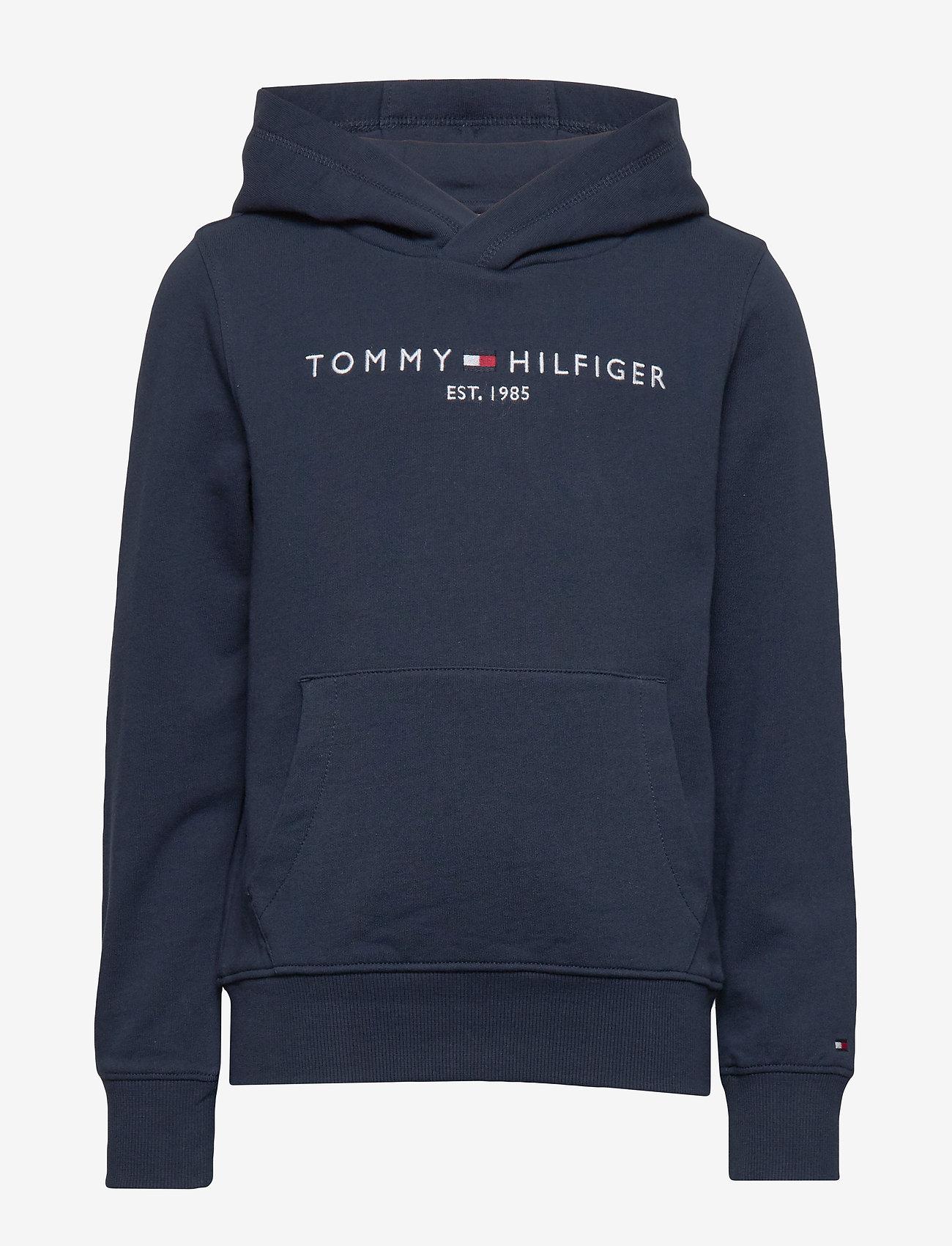 Tommy Hilfiger - ESSENTIAL HOODIE - hoodies - twilight navy 654-860