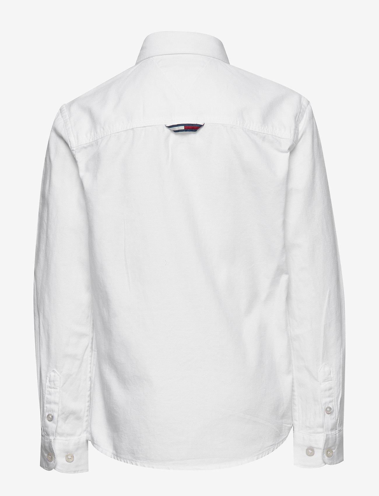 Tommy Hilfiger - OVERDYE DOBBY SHIRT - shirts - white - 1