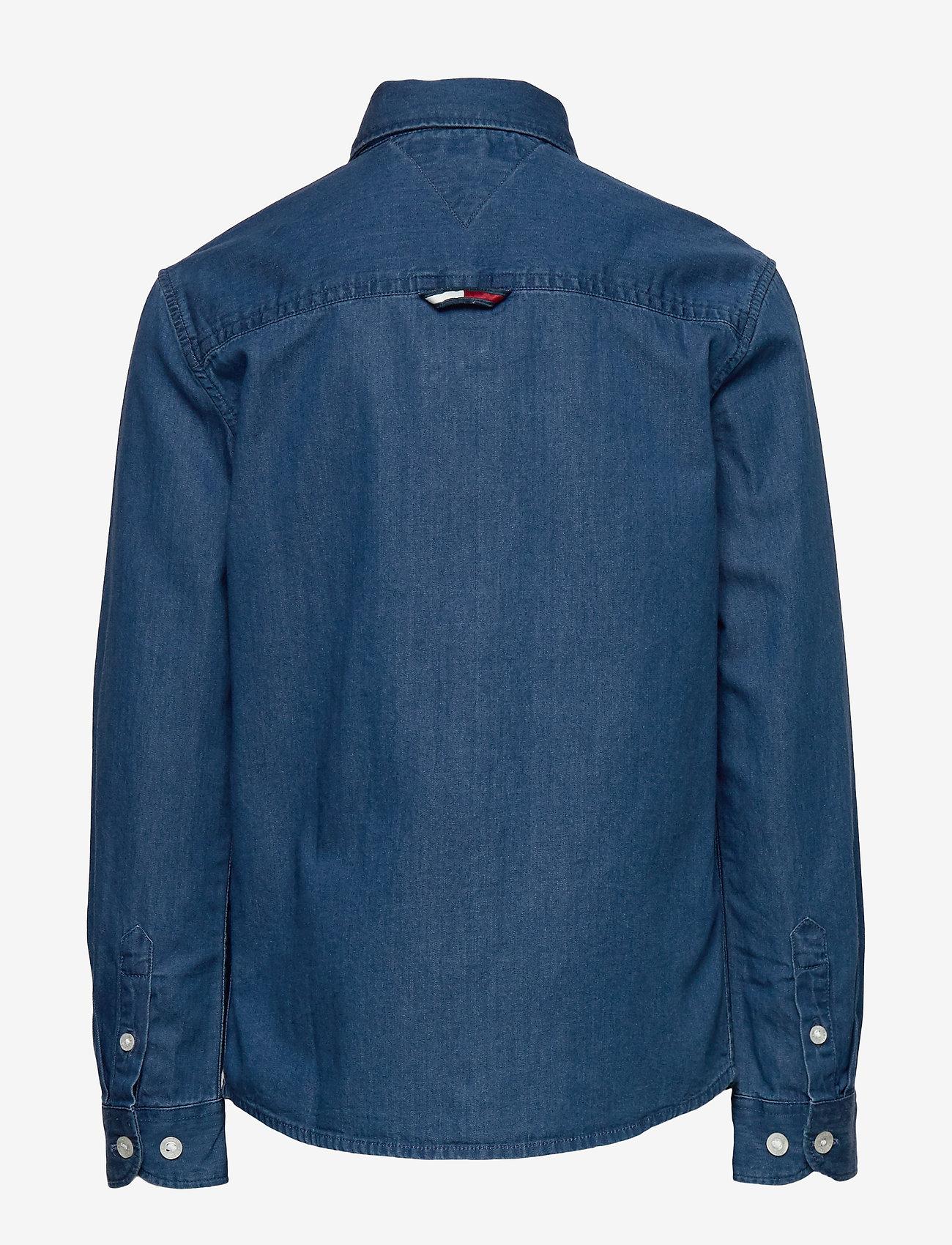Tommy Hilfiger - DENIM SHIRT L/S - shirts - denim dark 01 - 1