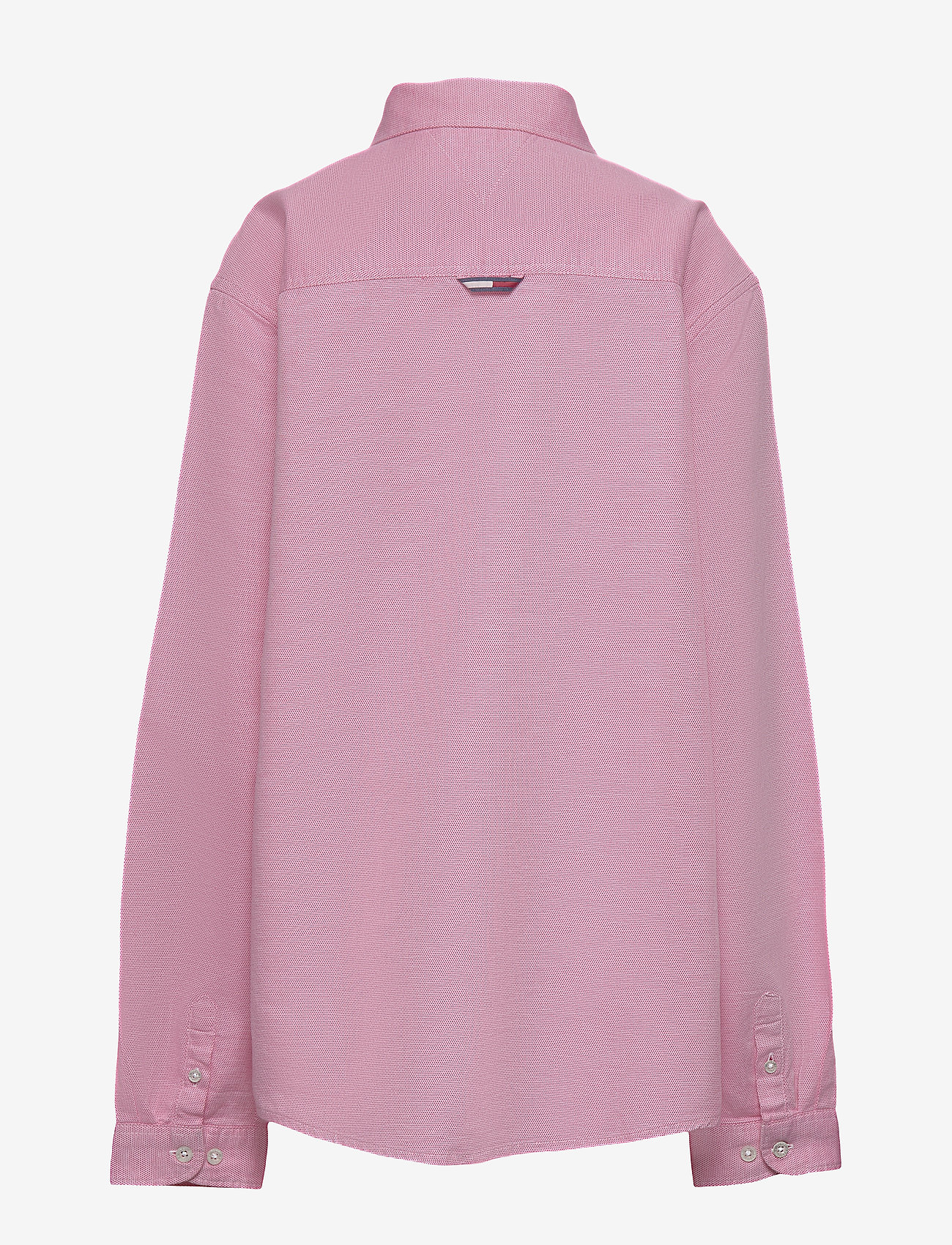 Tommy Hilfiger - STRUCTURED LINEN SHI - shirts - light cerise pink - 1