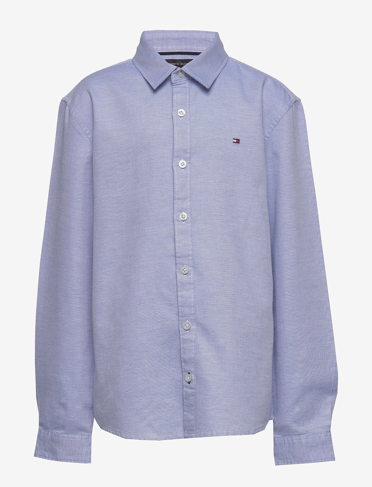 Tommy Hilfiger - STRUCTURED LINEN SHI - shirts - regatta/white - 0