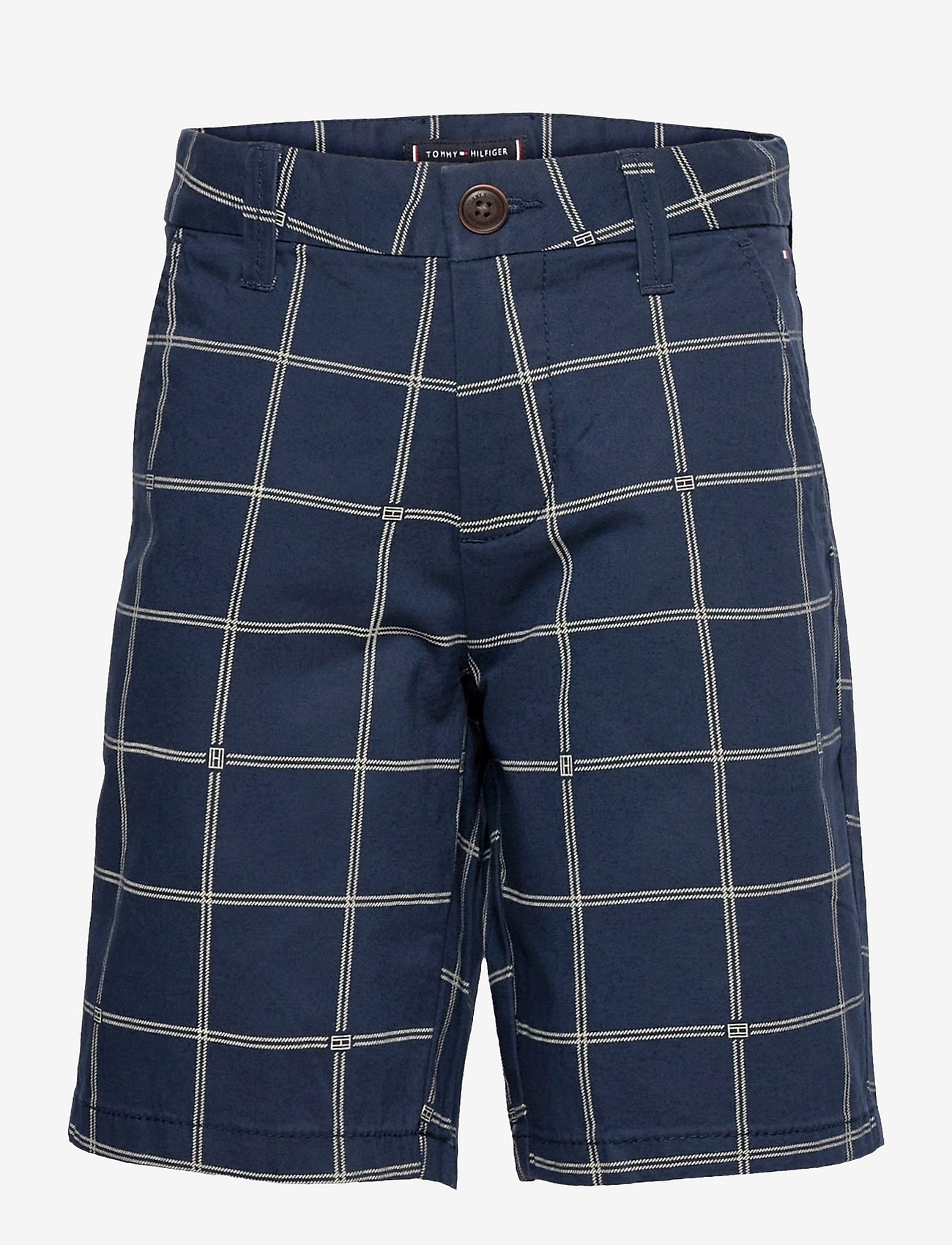 Tommy Hilfiger - CHECK AO CHINO SHORTS - shorts - twilight navy check - 0