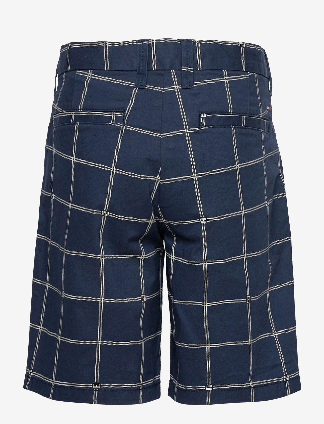 Tommy Hilfiger - CHECK AO CHINO SHORTS - shorts - twilight navy check - 1