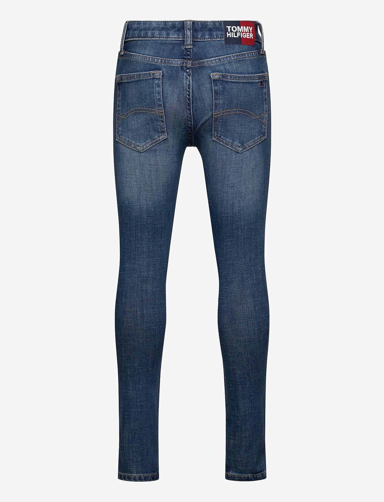Tommy Hilfiger - SIMON SUPER SKINNY - DYNBLU - jeans - dynamic med blue 4waystr - 1