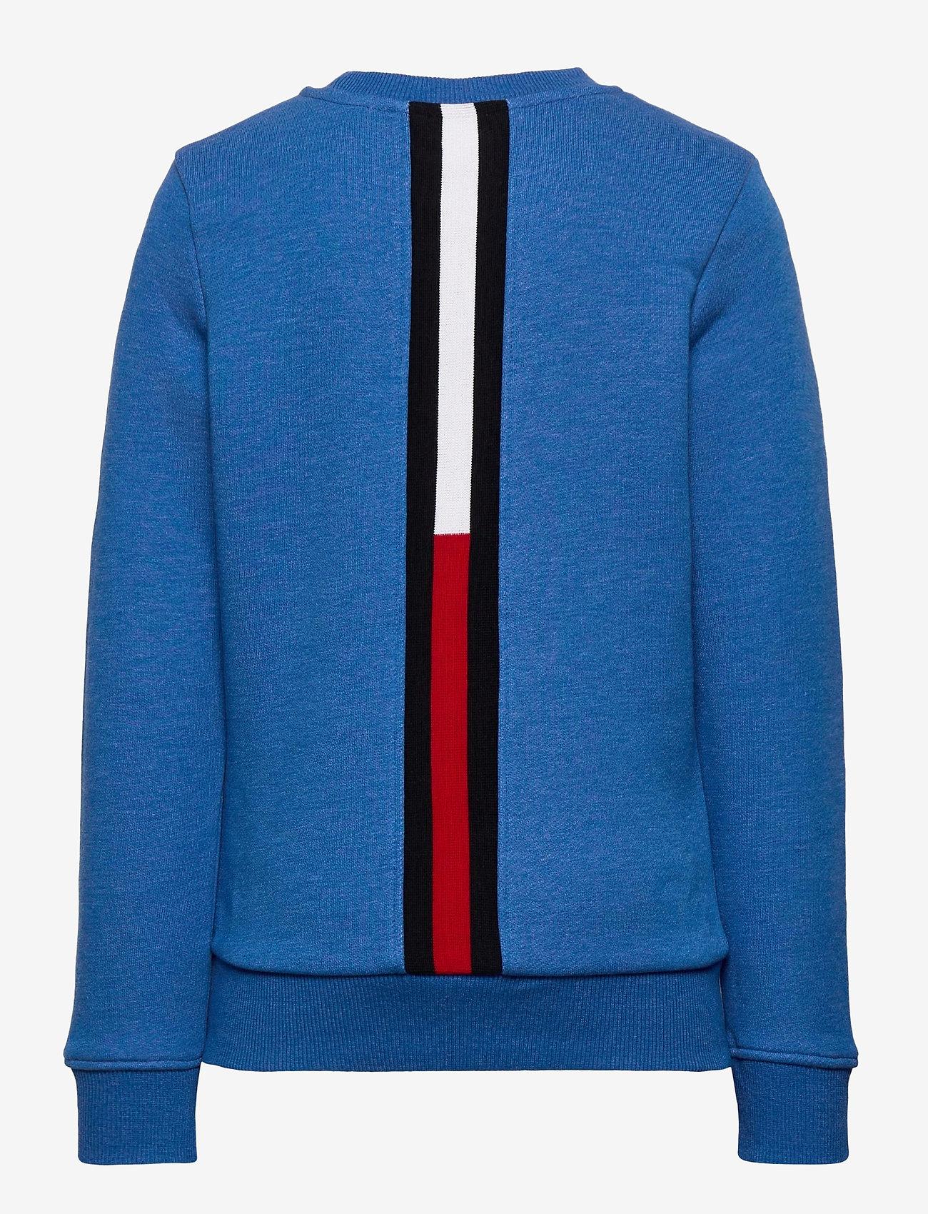 Tommy Hilfiger - BACK INSERT CN SWEATSHIRT - sweatshirts - dynamic blue - 1
