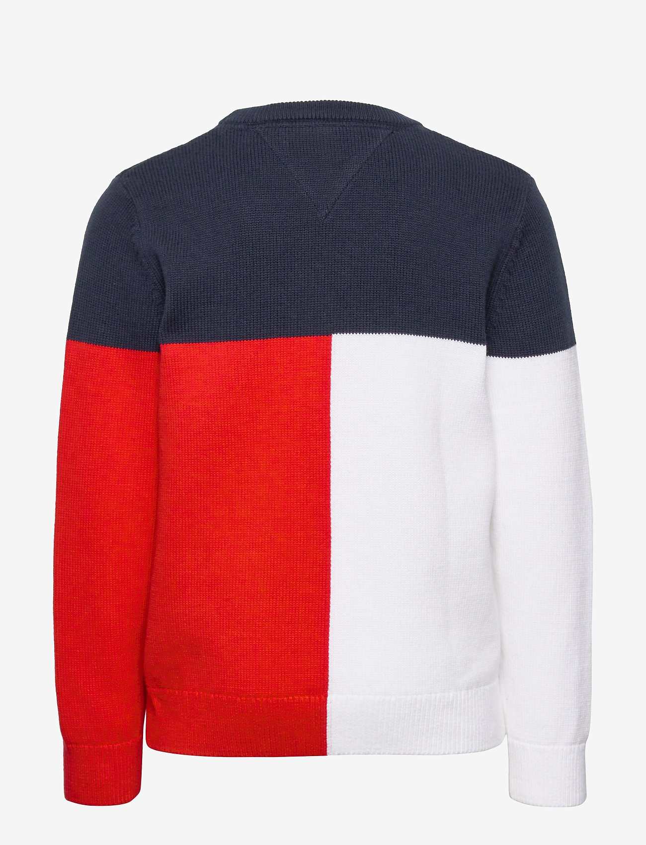 Tommy Hilfiger - HILFIGER COLORBLOCK SWEATER - sweatshirts - twilight navy - 1