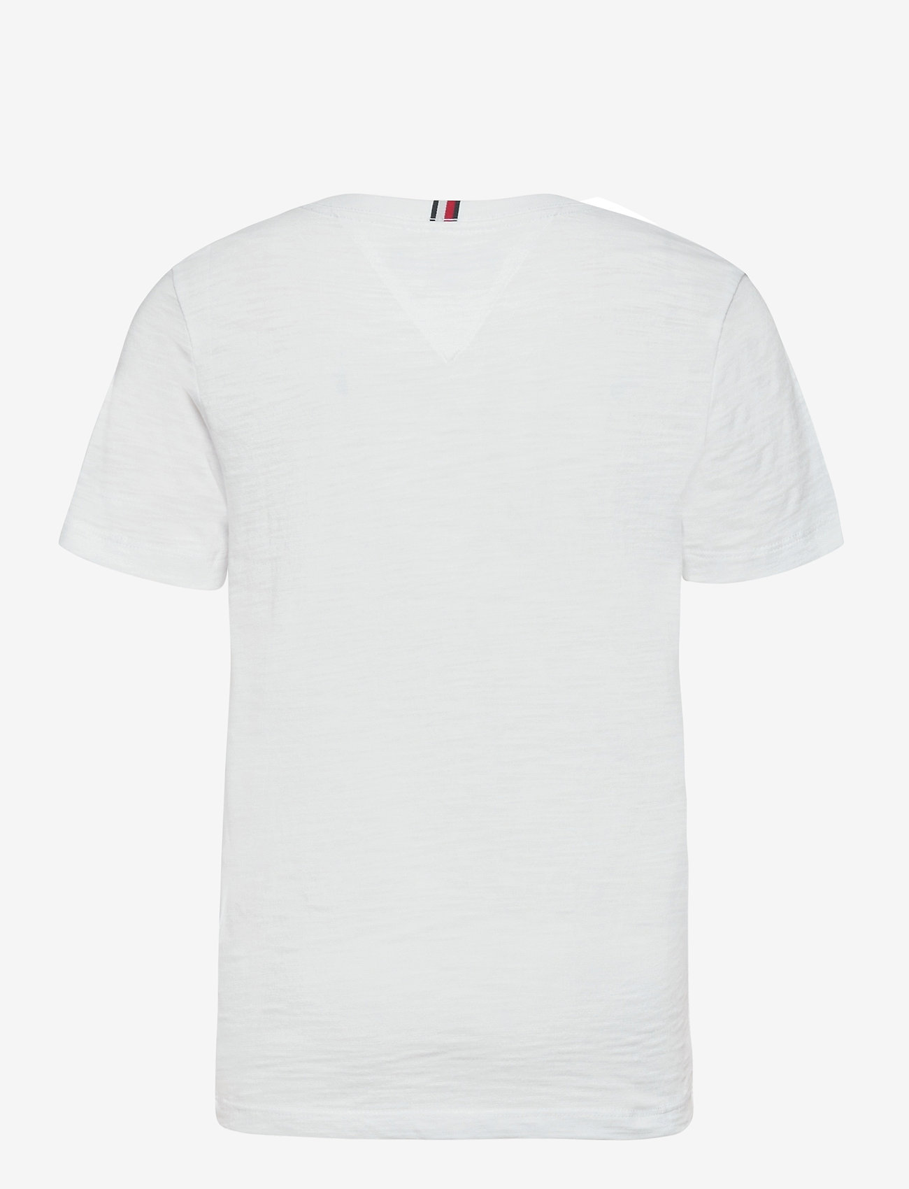 Tommy Hilfiger - UV PRINT PALM LOGO TEE S/S - short-sleeved - white - 1