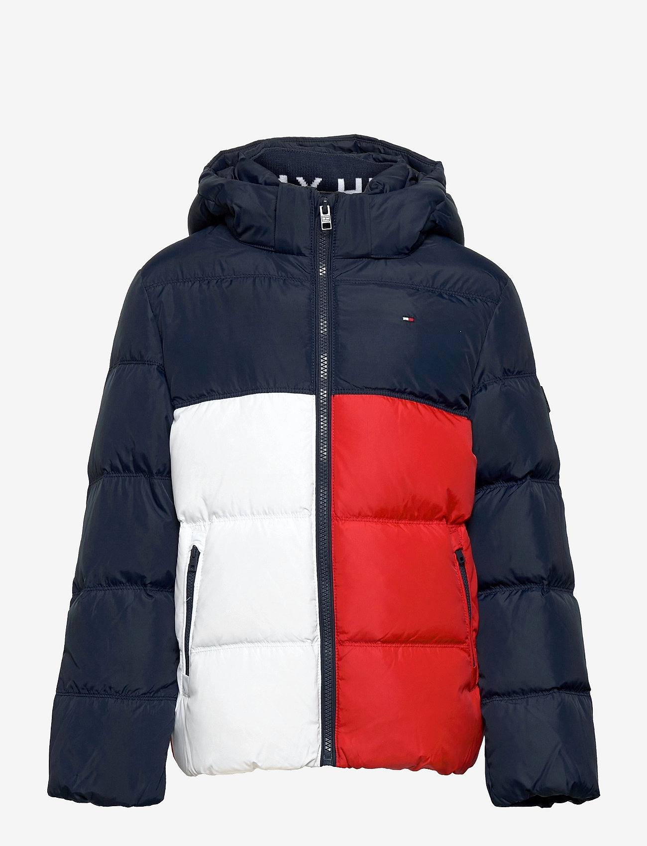 Tommy Hilfiger - ESSENTIAL DOWN JACKET - puffer & padded - colourblock - 0
