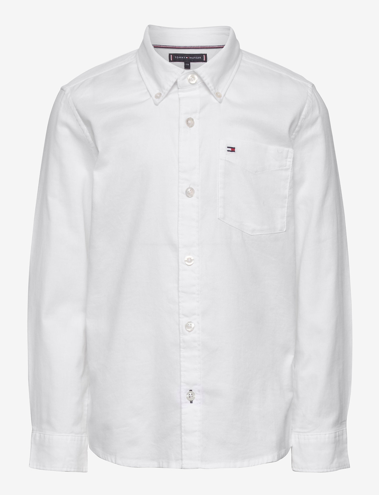 Tommy Hilfiger - BACK DETAIL STRETCH OXFORD SHIRT - overhemden - white - 0