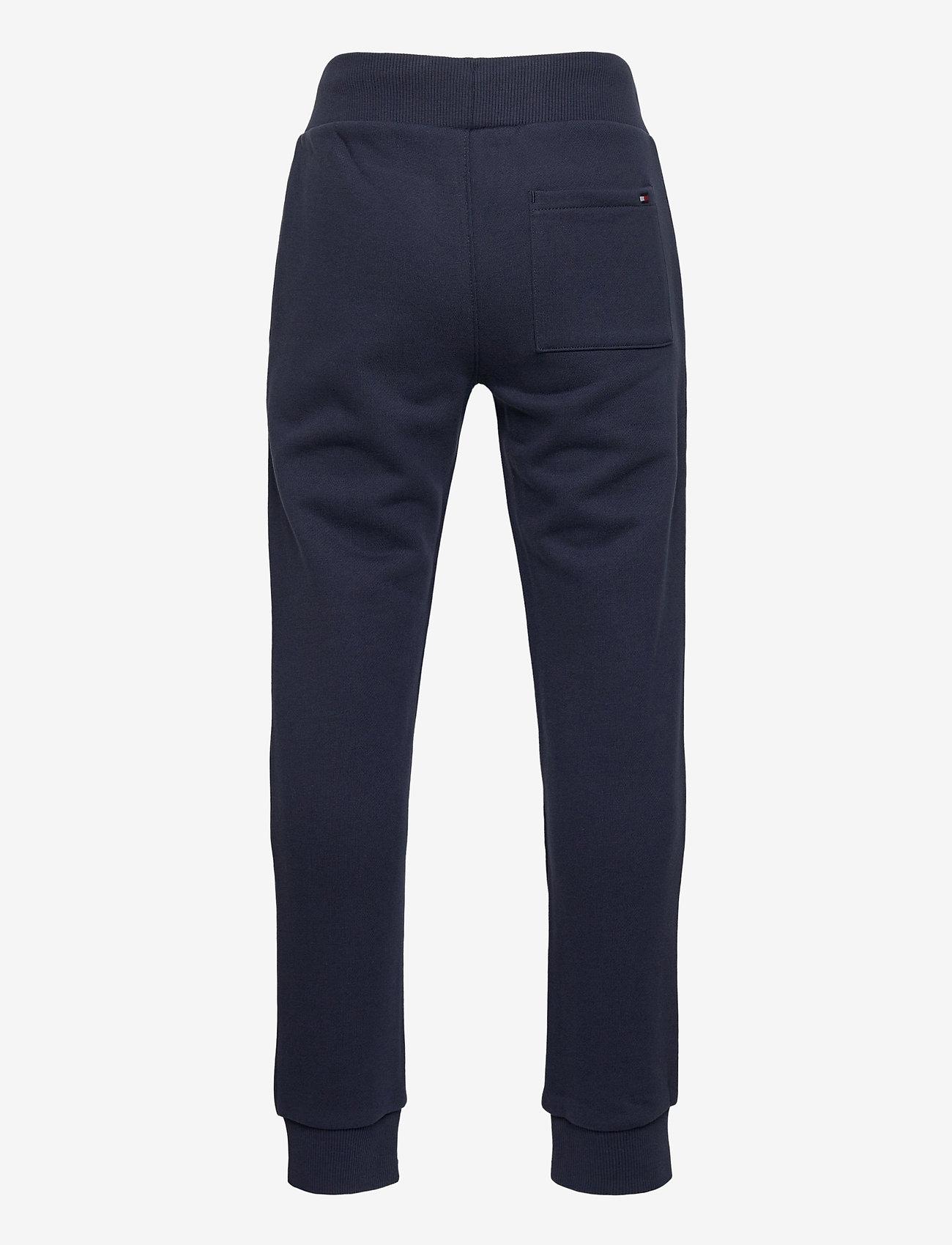 Tommy Hilfiger - TH LOGO SWEATPANTS - sweatpants - twilight navy - 1