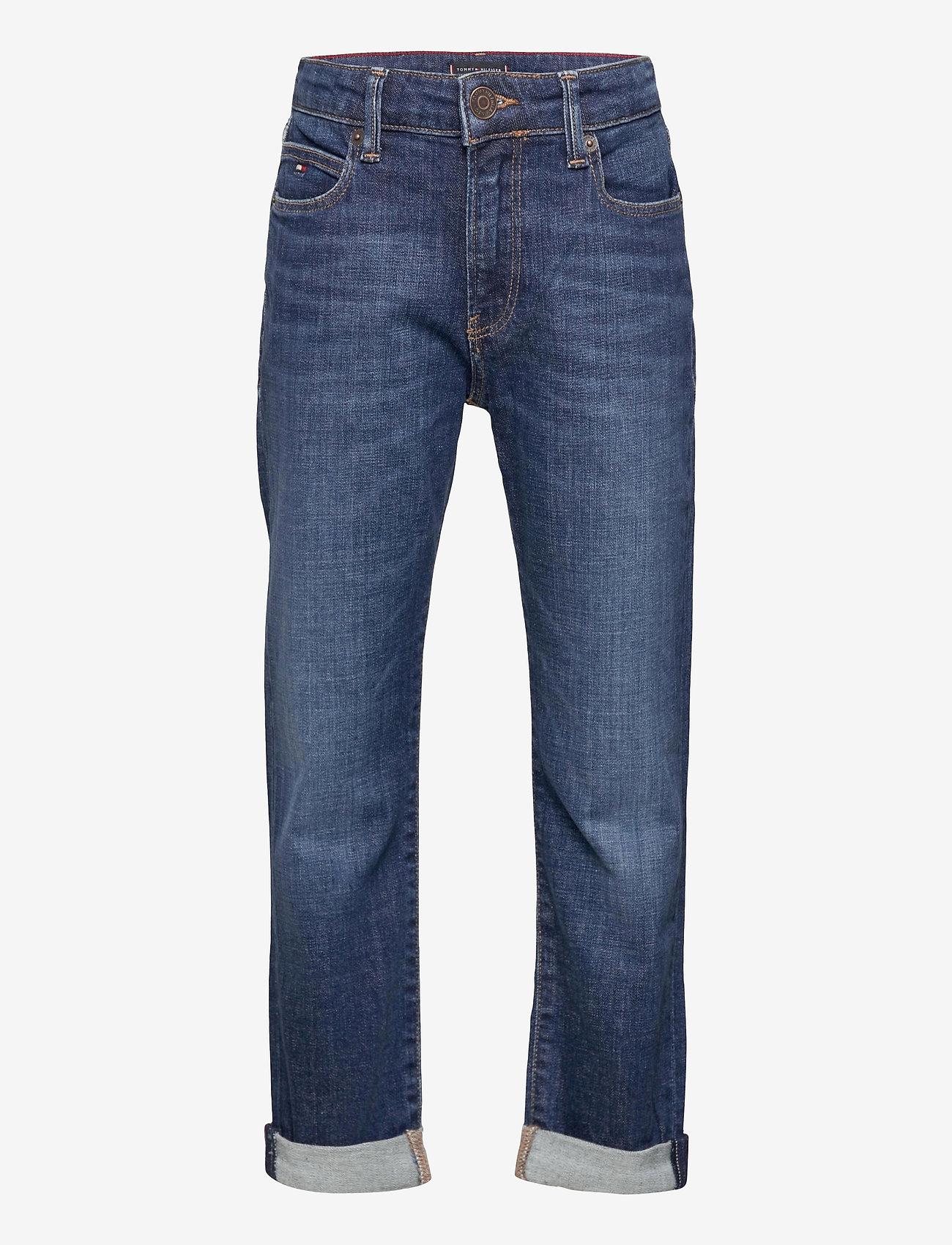 Tommy Hilfiger - MODERN STRAIGHT - jeans - summerdkbluestretch - 0