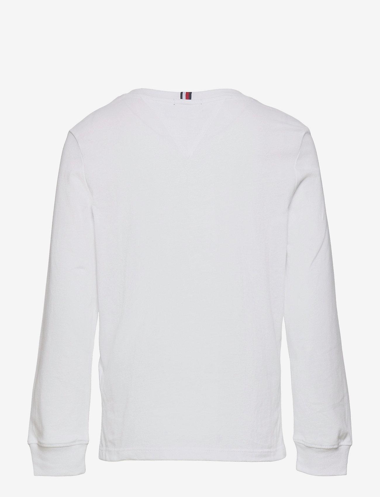 Tommy Hilfiger - TH ARTWORK TEE L/S - sweatshirts - white - 1