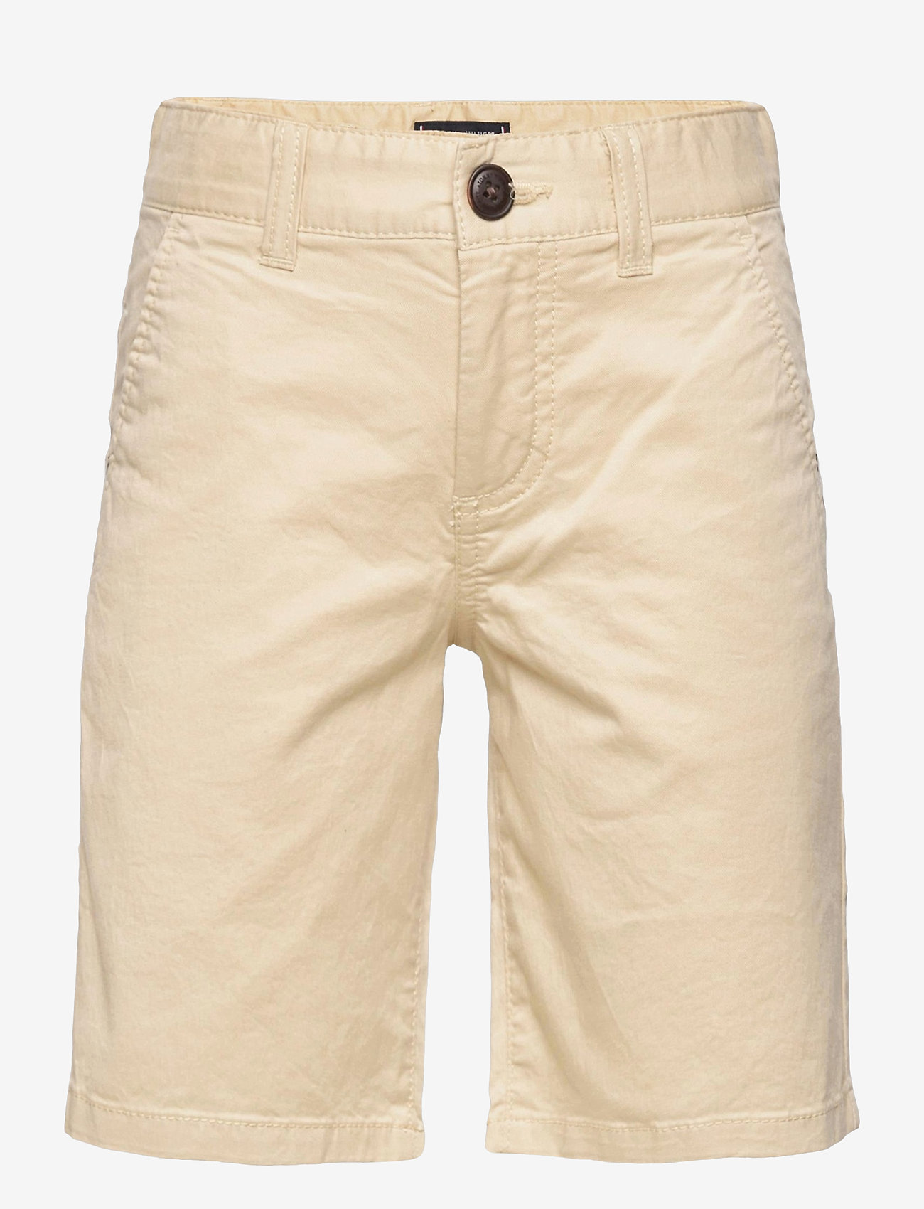 Tommy Hilfiger - ESSENTIAL CHINO SHORT TH FLEX - shorts - misty beige - 0