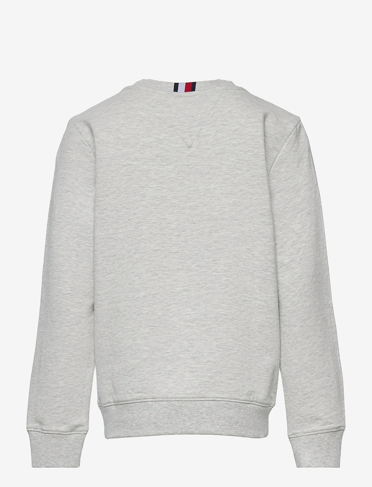 Tommy Hilfiger - FLAG RIB INSERT SWEATSHIRT - sweatshirts - light grey heather - 1