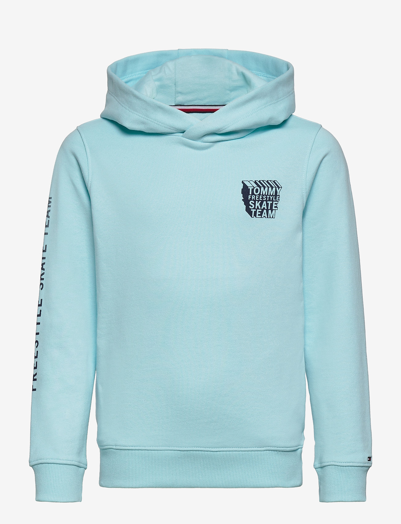 Tommy Hilfiger - TH COOL GRAPHIC HOODIE - frost blue - 0
