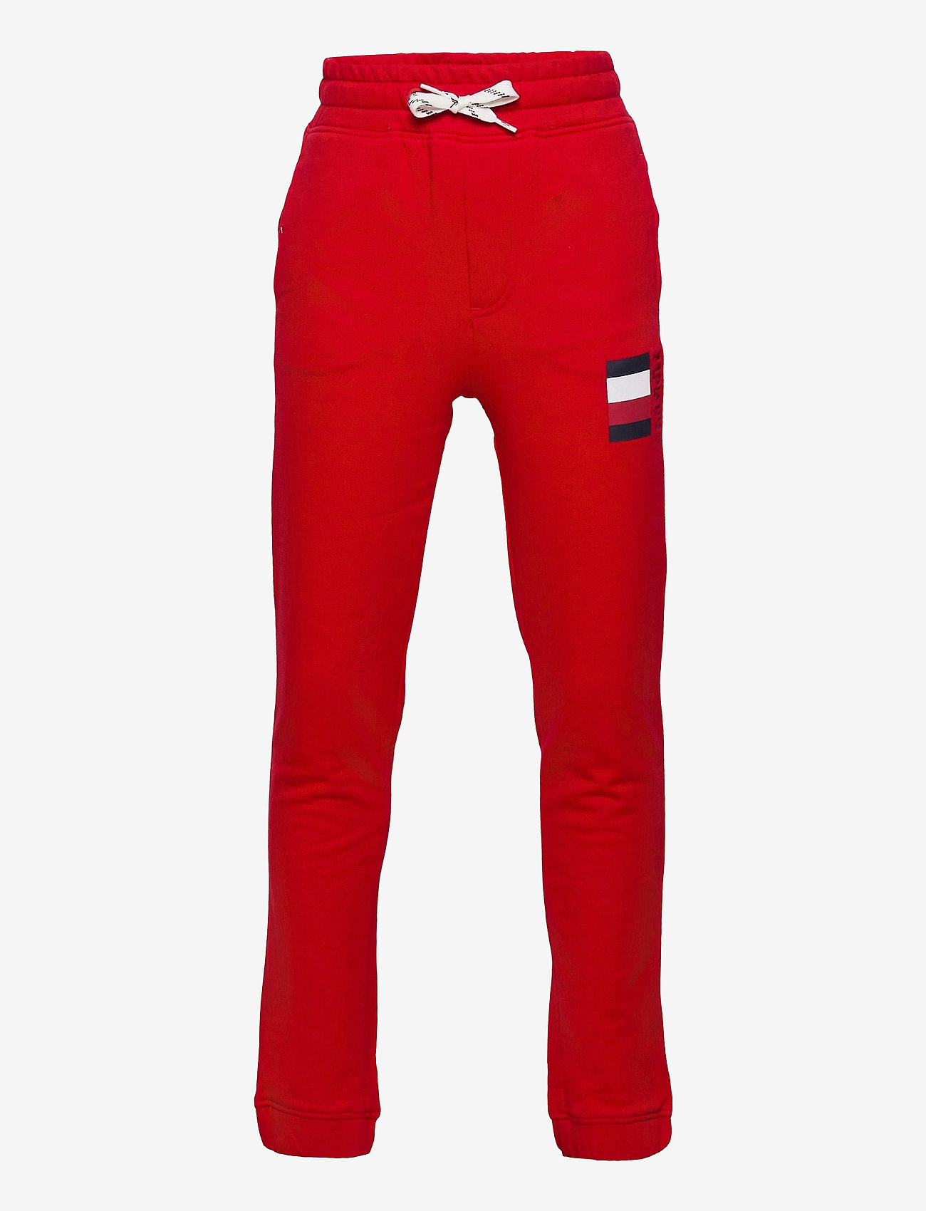 Tommy Hilfiger - GLOBAL STRIPE SWEATPANTS - sweatpants - deep crimson - 0