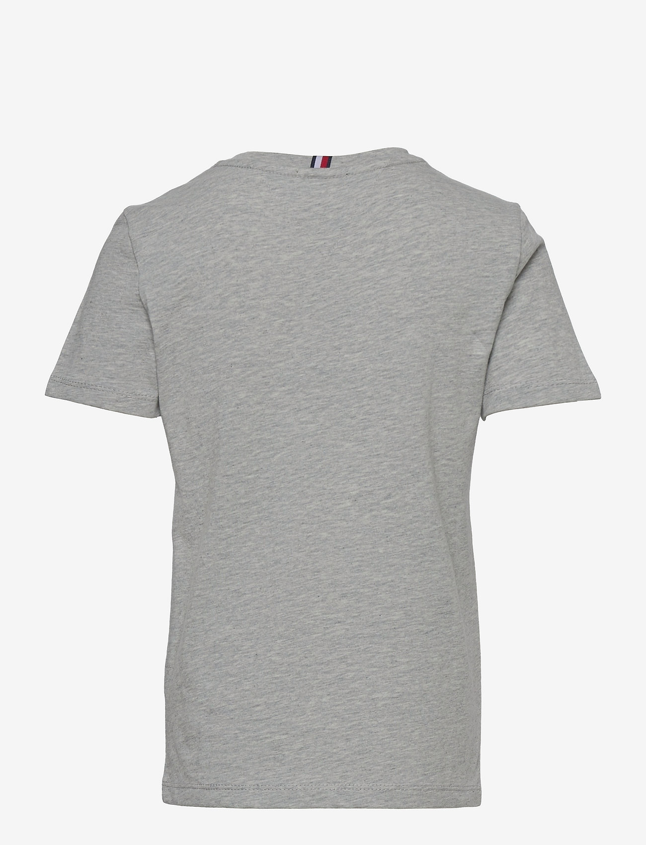 Tommy Hilfiger - TAPED POCKET TEE S/S - pattern short-sleeved t-shirt - grey heather - 1