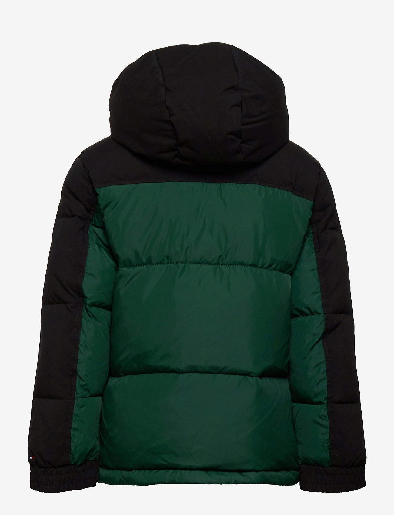 Tommy Hilfiger - PADDED POPOVER - puffer & padded - ornamental green/black - 1