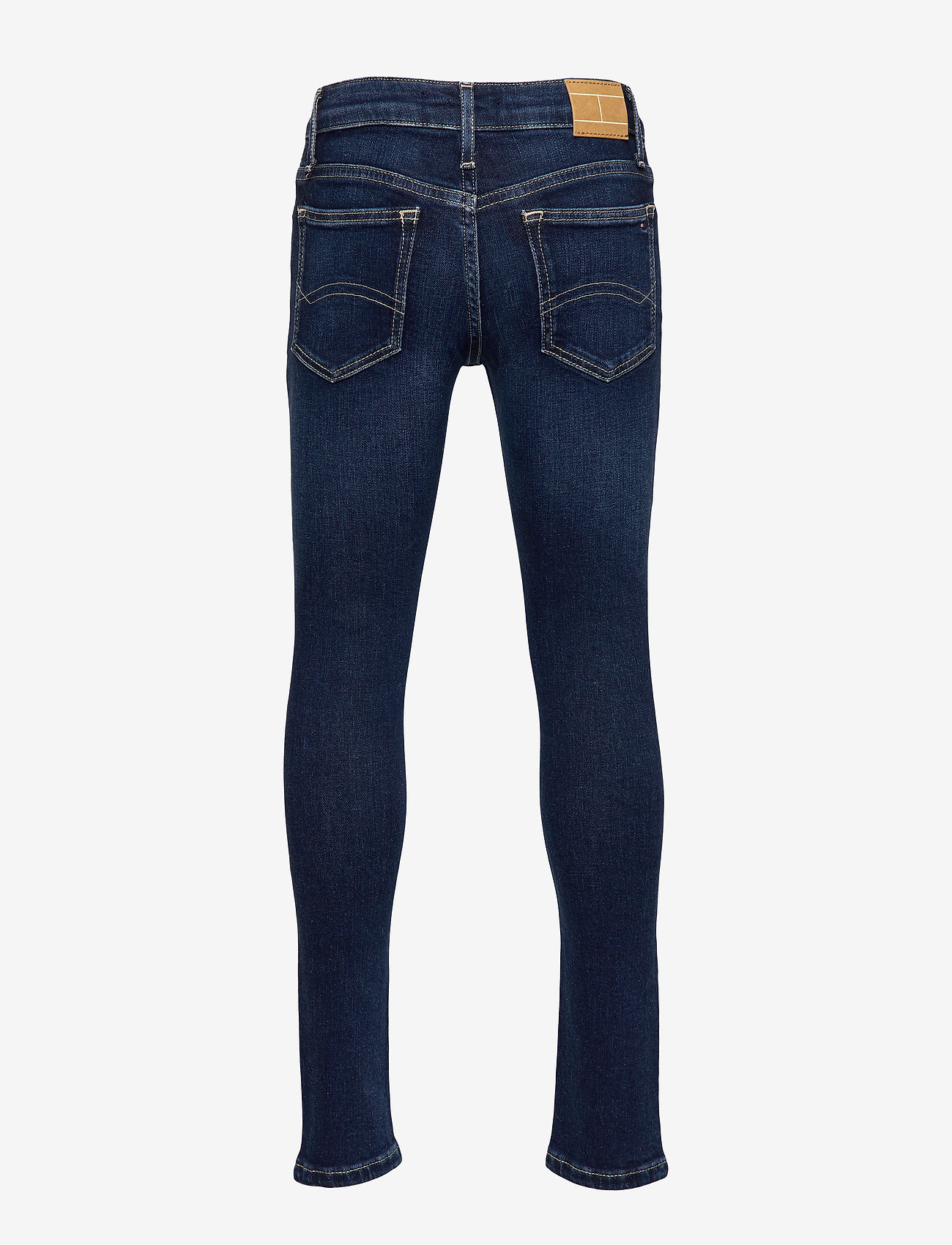 Tommy Hilfiger - GIRLS NORA SKINNY NY - jeans - new york dark stretch - 1