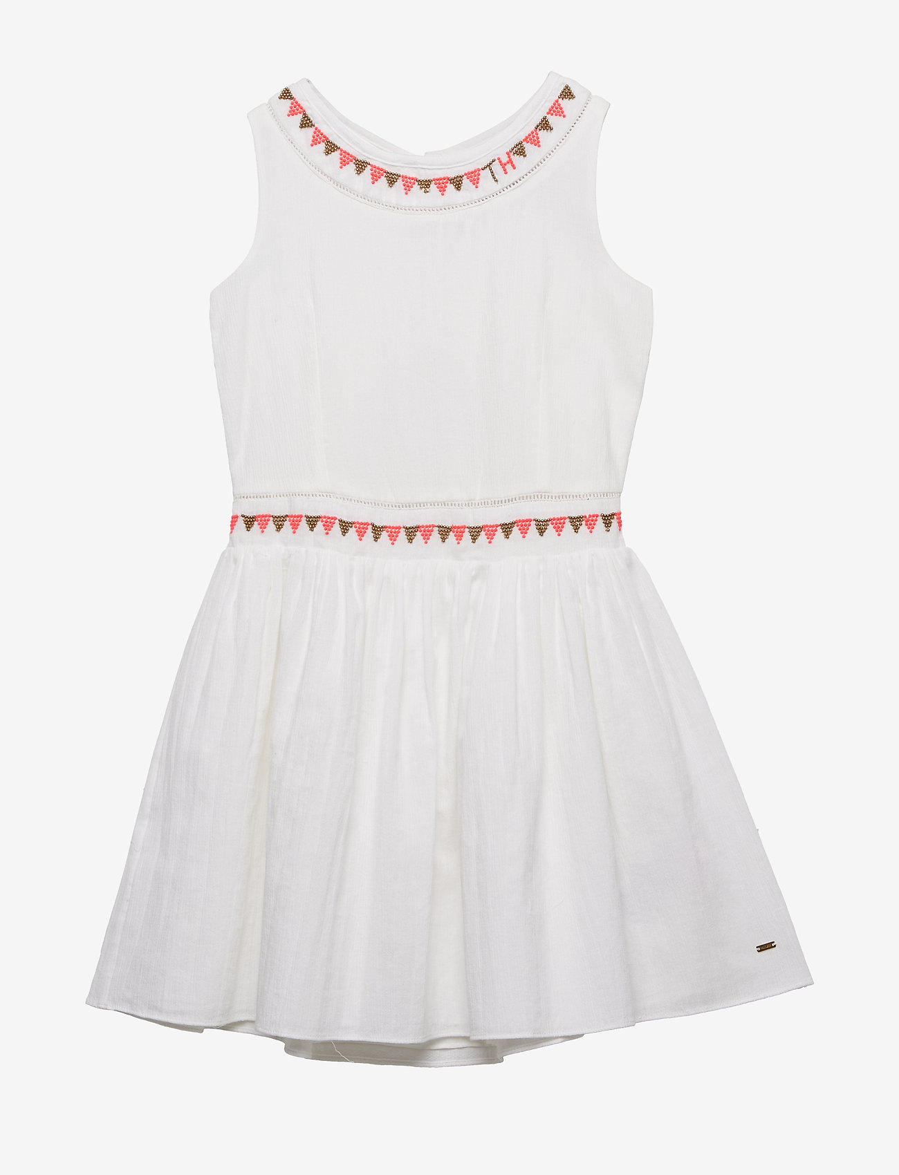 Tommy Hilfiger - ENDEARING SUN DRESS - dresses - bright white - 0