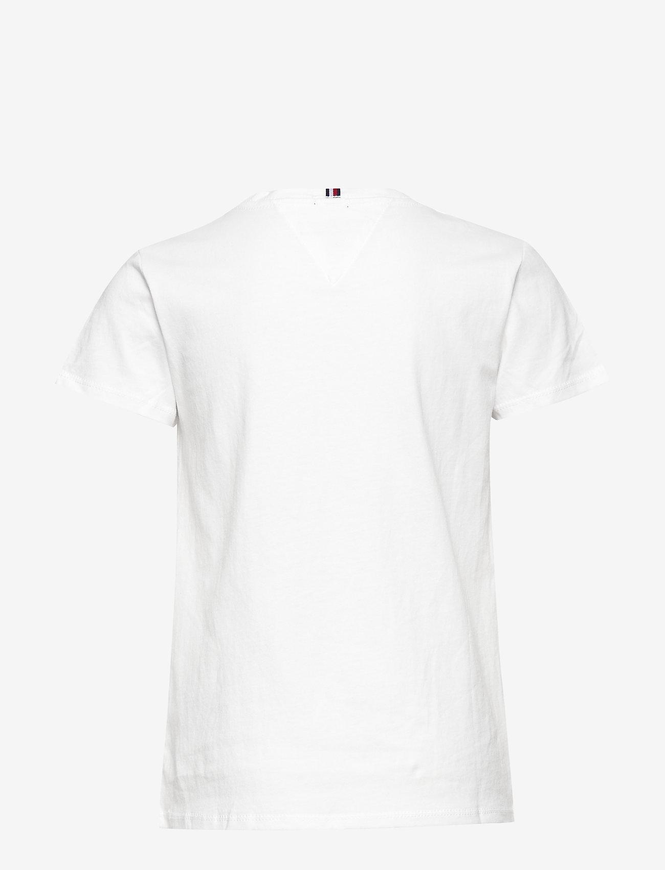 Tommy Hilfiger - GIRLS BASIC CN KNIT - short-sleeved - bright white - 1