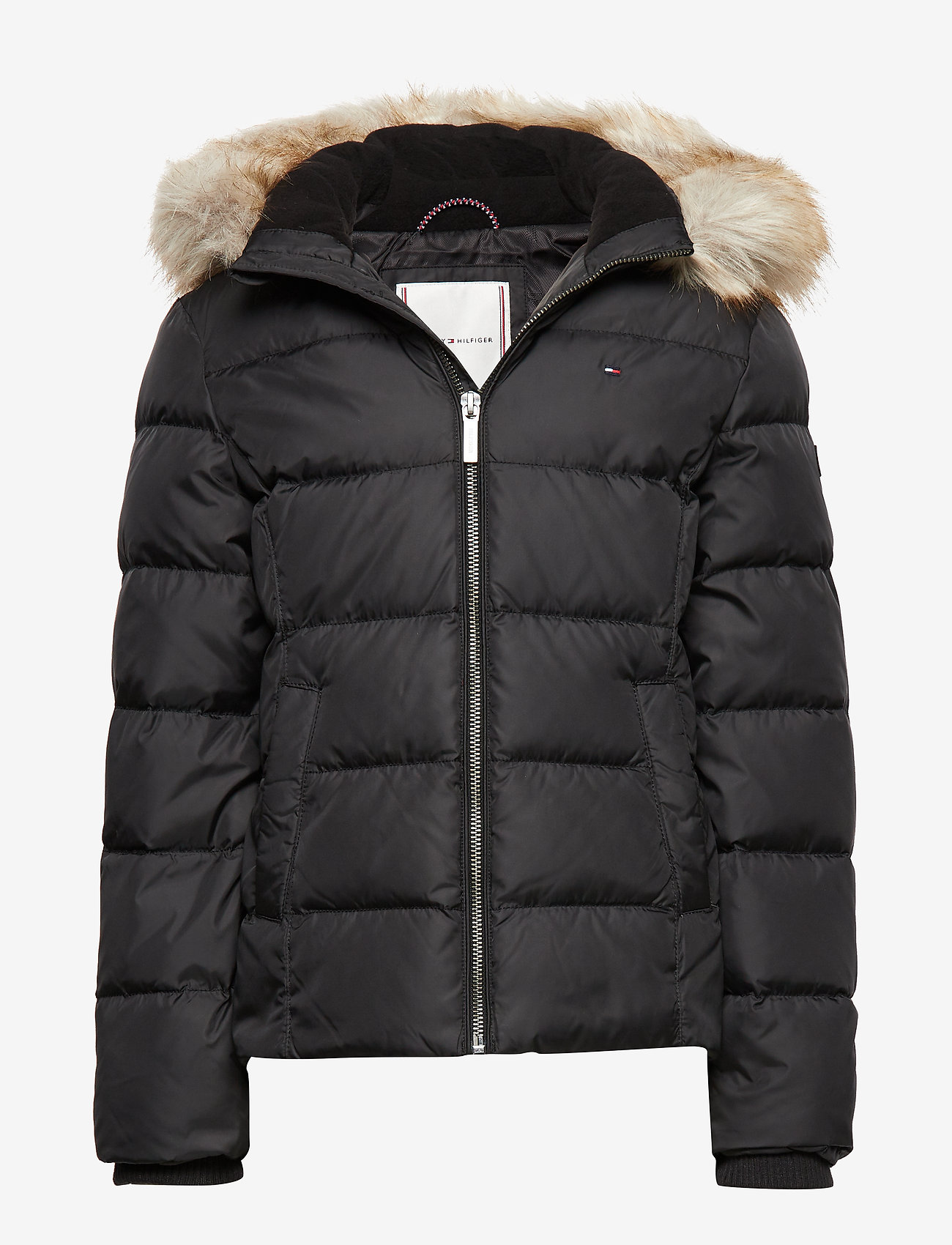 Tommy Hilfiger - ESSENTIAL BASIC DOWN - puffer & padded - tommy black - 0