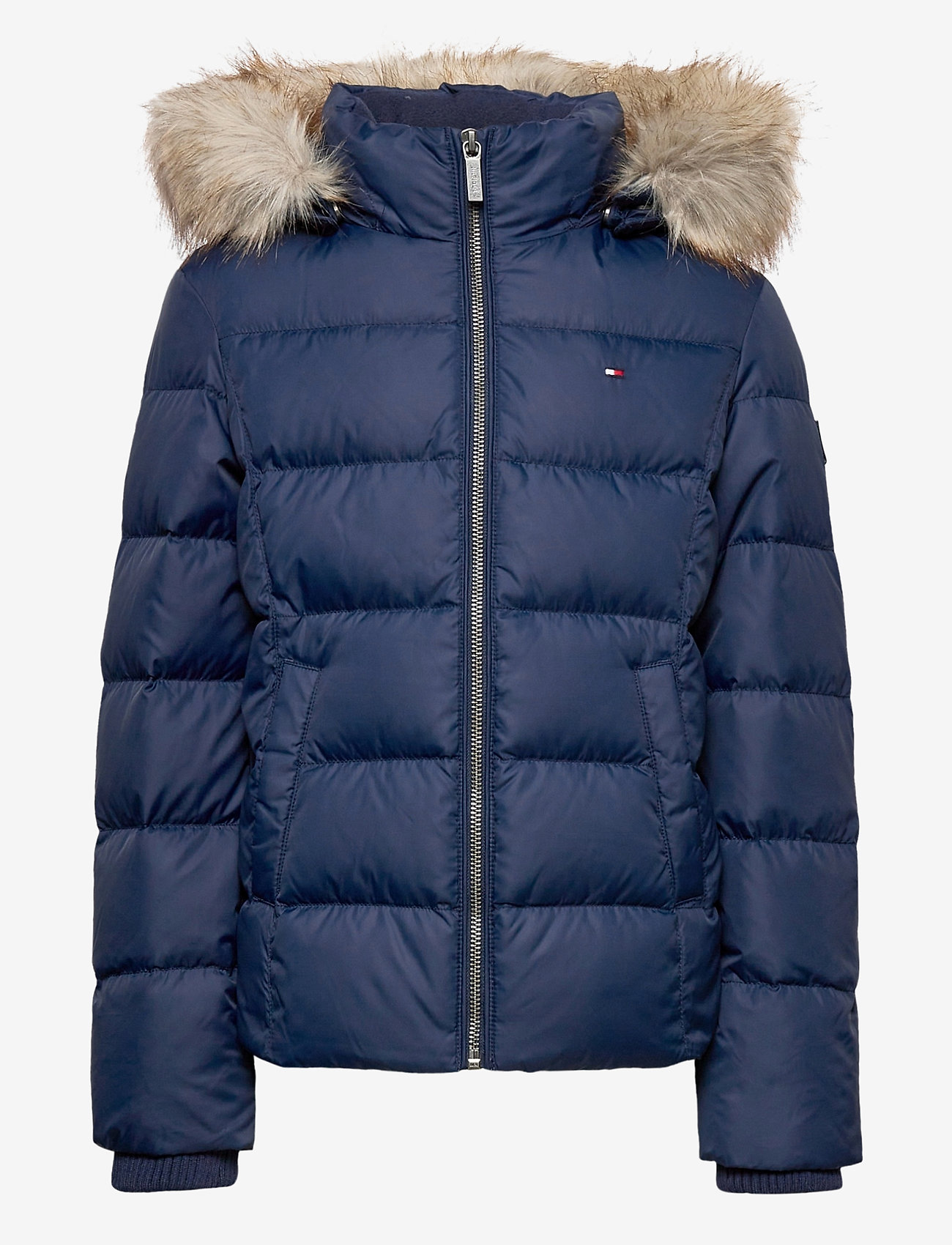 Tommy Hilfiger - ESSENTIAL BASIC DOWN - puffer & padded - twilight navy - 0