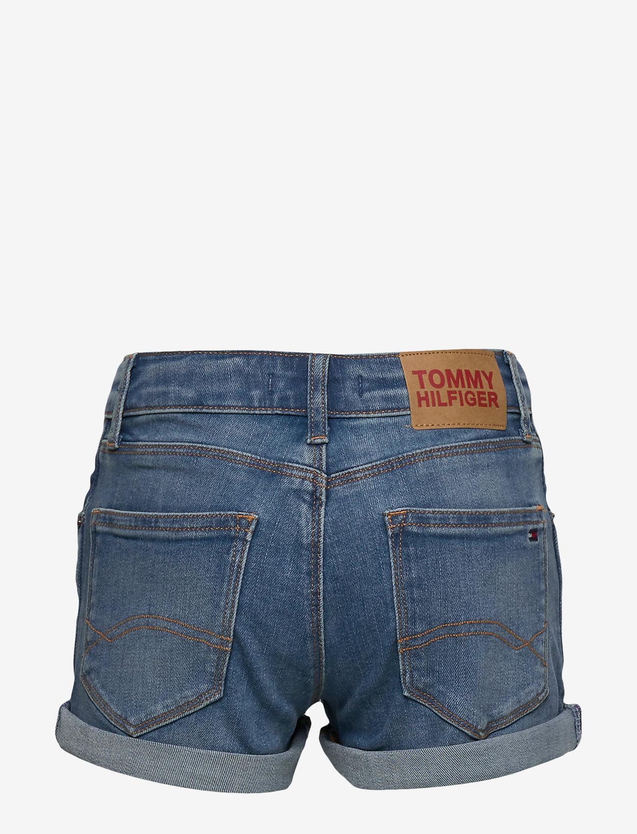 Tommy Hilfiger - NORA BASIC SHORT OCL - shorts - ocean light blue stretch - 1