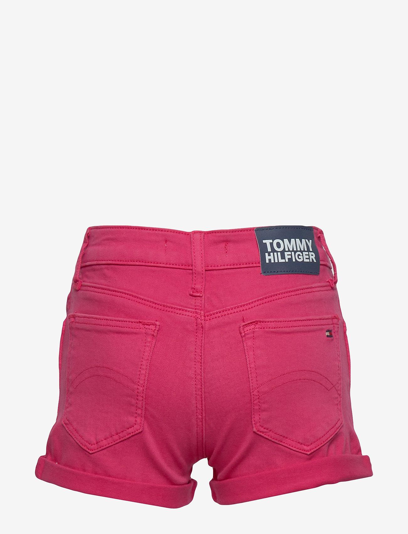 Tommy Hilfiger - NORA SHORT SOCDST - shorts - blush red - 1