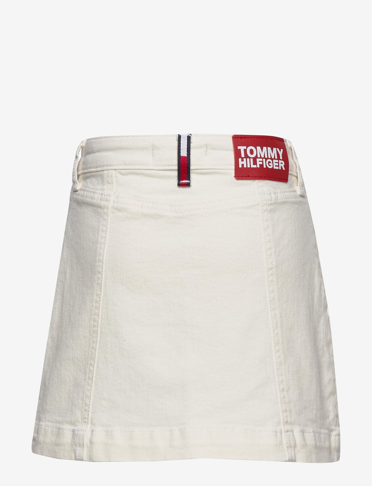Tommy Hilfiger - BUTTON SKIRT NADC - spódnice - natural denim comfort - 1