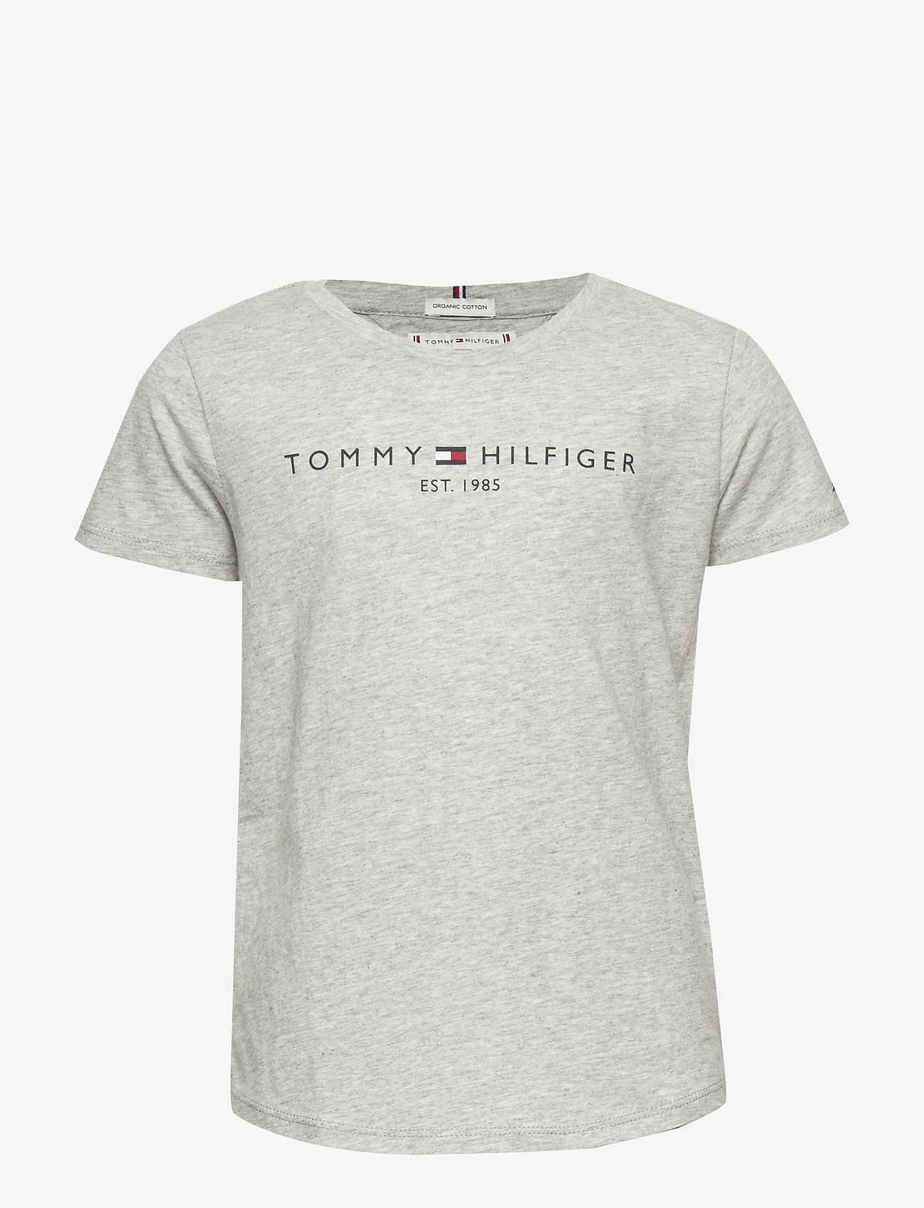 Tommy Hilfiger - ESSENTIAL  TEE S/S - short-sleeved - light grey heather