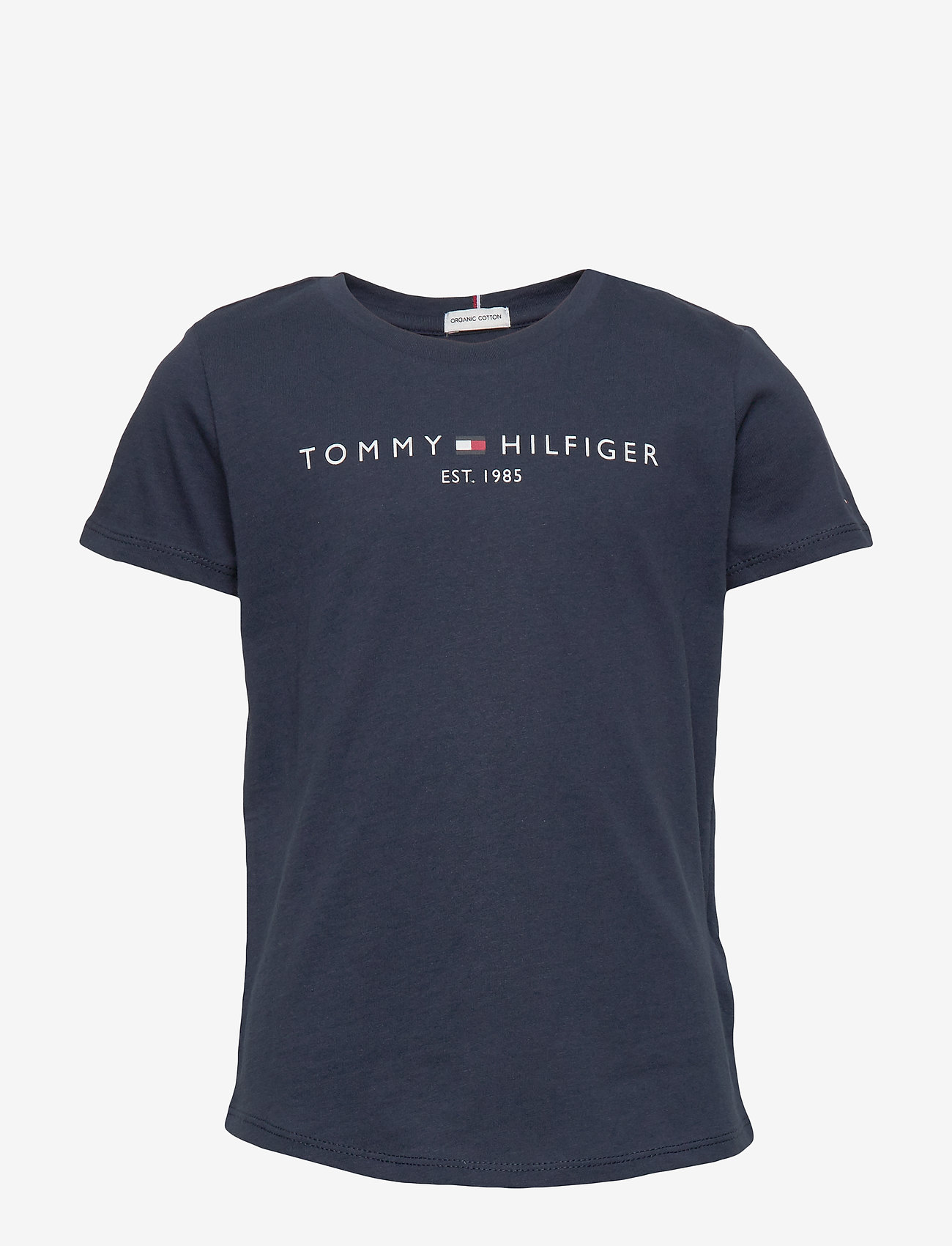 Tommy Hilfiger - ESSENTIAL  TEE S/S - short-sleeved - twilight navy