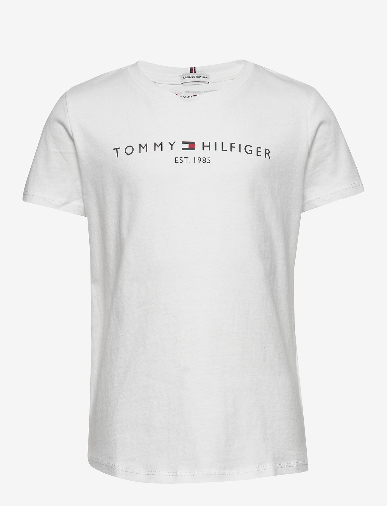 Tommy Hilfiger - ESSENTIAL  TEE S/S - short-sleeved - white