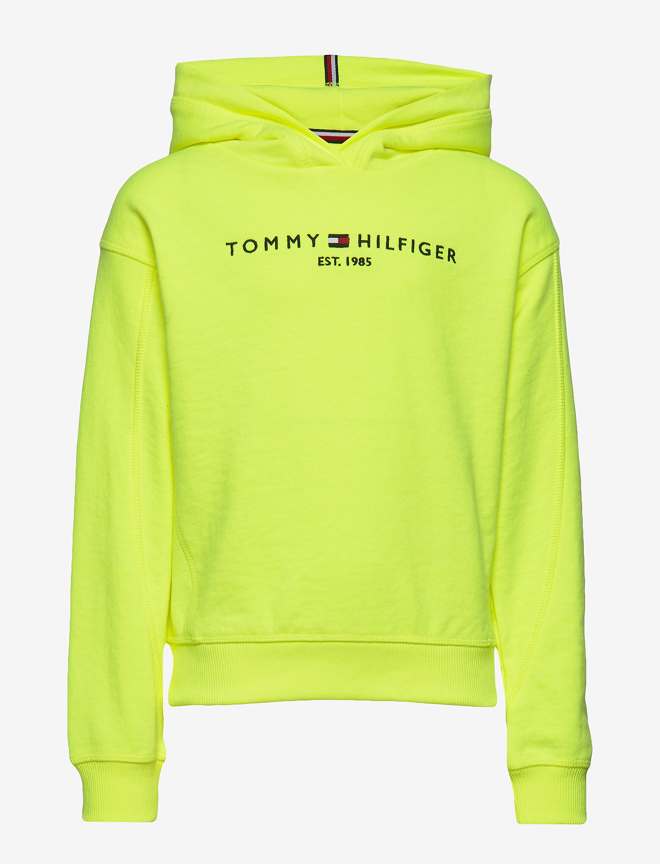Tommy Hilfiger - ESSENTIAL HOODED SWE - hoodies - safety yellow