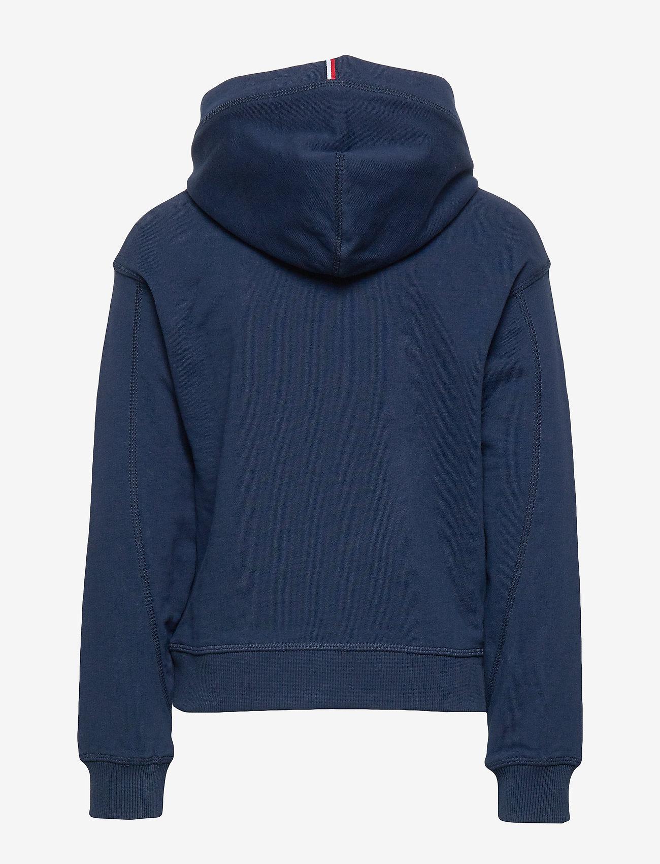 Tommy Hilfiger - ESSENTIAL HOODED SWE - hoodies - twilight navy