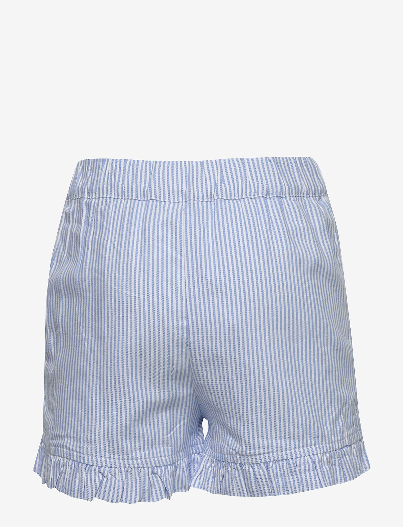 Tommy Hilfiger - RUFFLE ITHACA STRIPE - shorts - white/ calm blue - 1