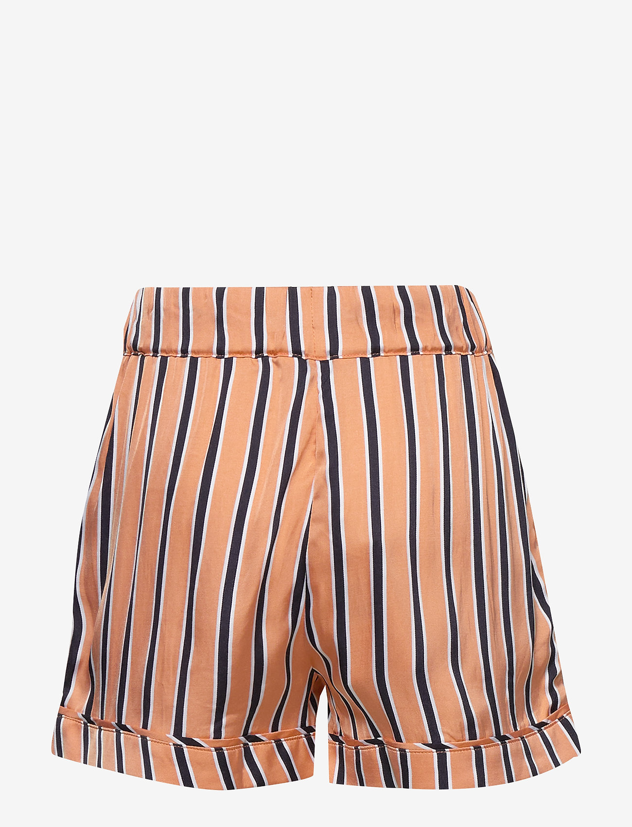 Tommy Hilfiger - RESORT STRIPE SHORTS - shorts - melon orange/ twilight navy - 1