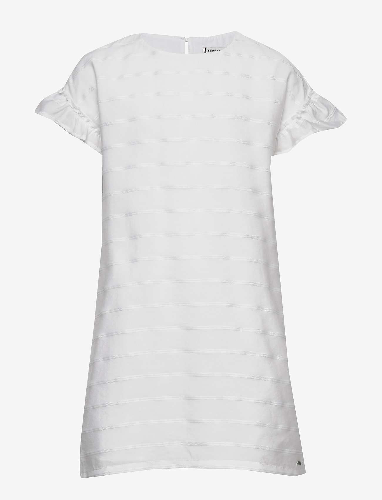 Tommy Hilfiger - EID SHIFT DRESS S/S - robes - white - 0