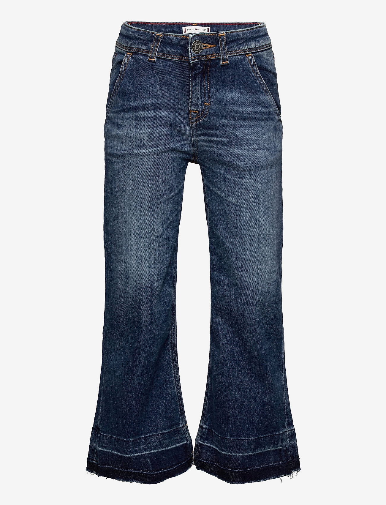 Tommy Hilfiger - WIDE LEG - AUHERDKS - jeans - auth heritage dk used str - 0