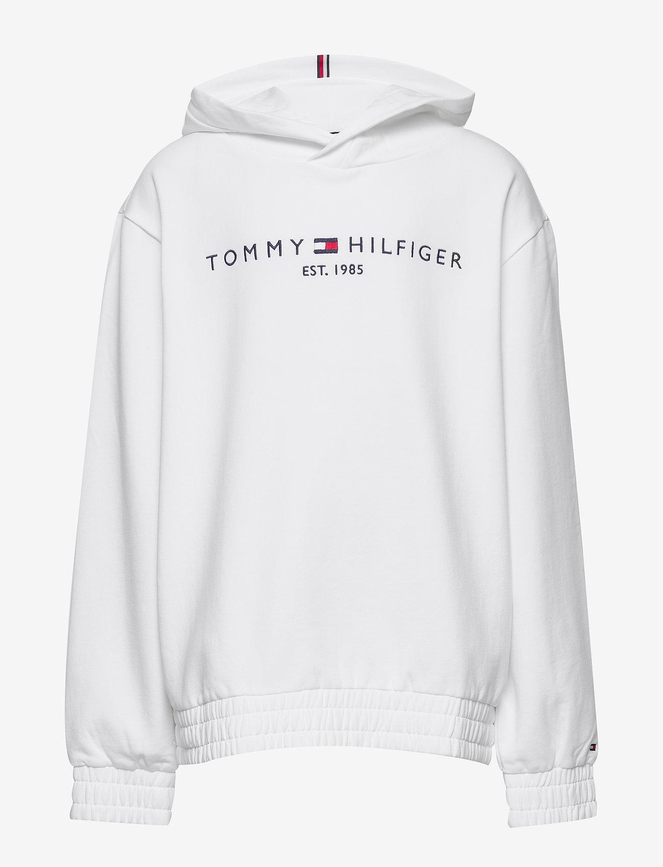 Tommy Hilfiger - ESSENTIAL HOODED SWEATSHIRT - hættetrøjer - white - 0