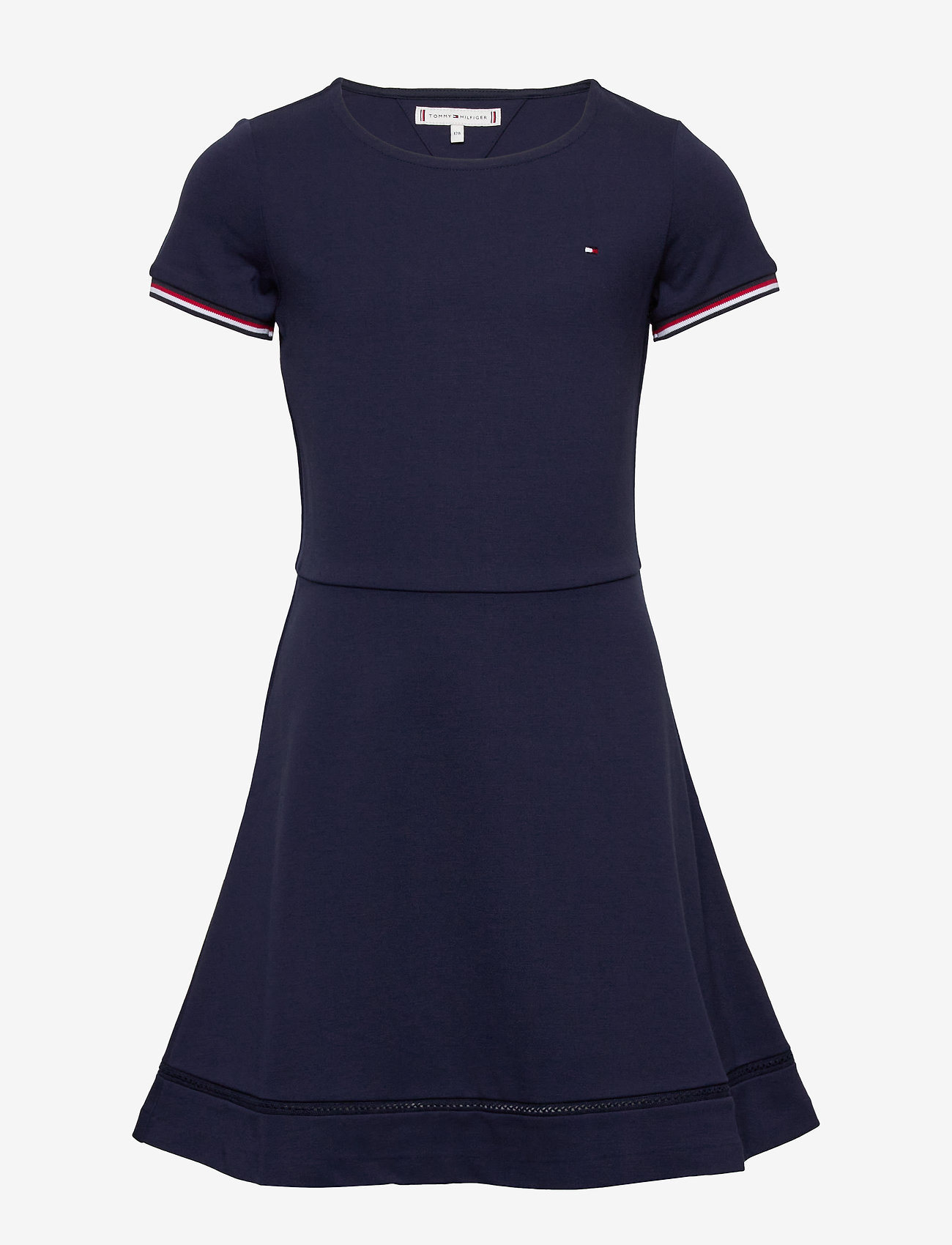 Tommy Hilfiger - ESSENTIAL SKATER DRESS - robes - twilight navy - 0