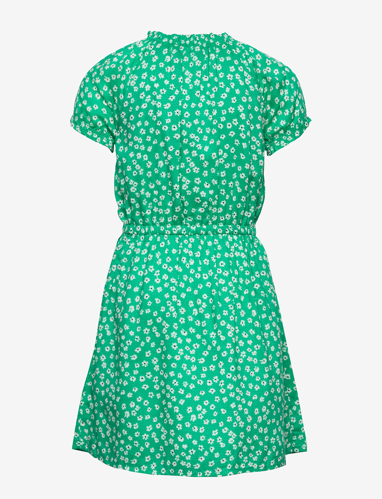 Tommy Hilfiger - DITSY FLOWER WRAP DRESS S/S - robes - cosmic green/ ditsy flower - 1