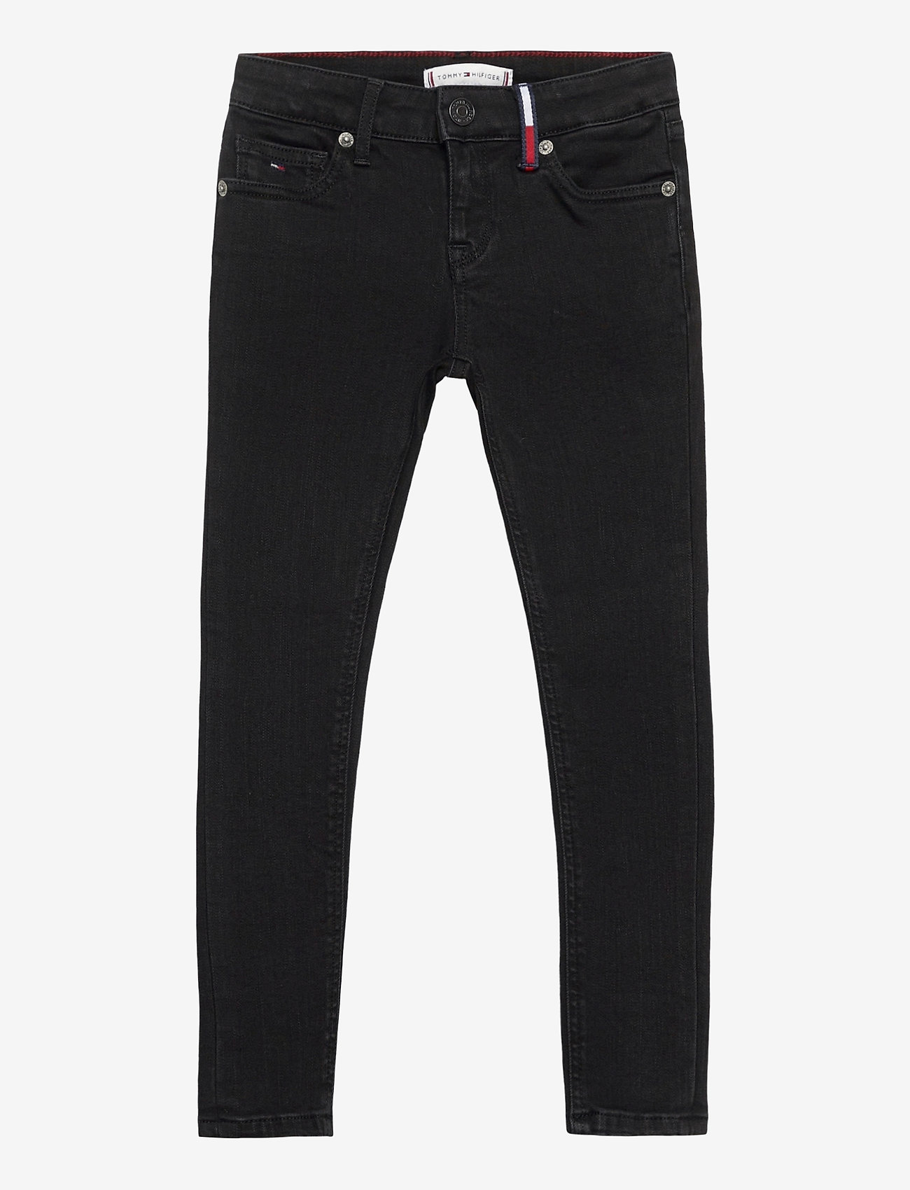 Tommy Hilfiger - NORA SUPER SKINNY WREPLBLS - jeans - waterrepellentblackstr - 0