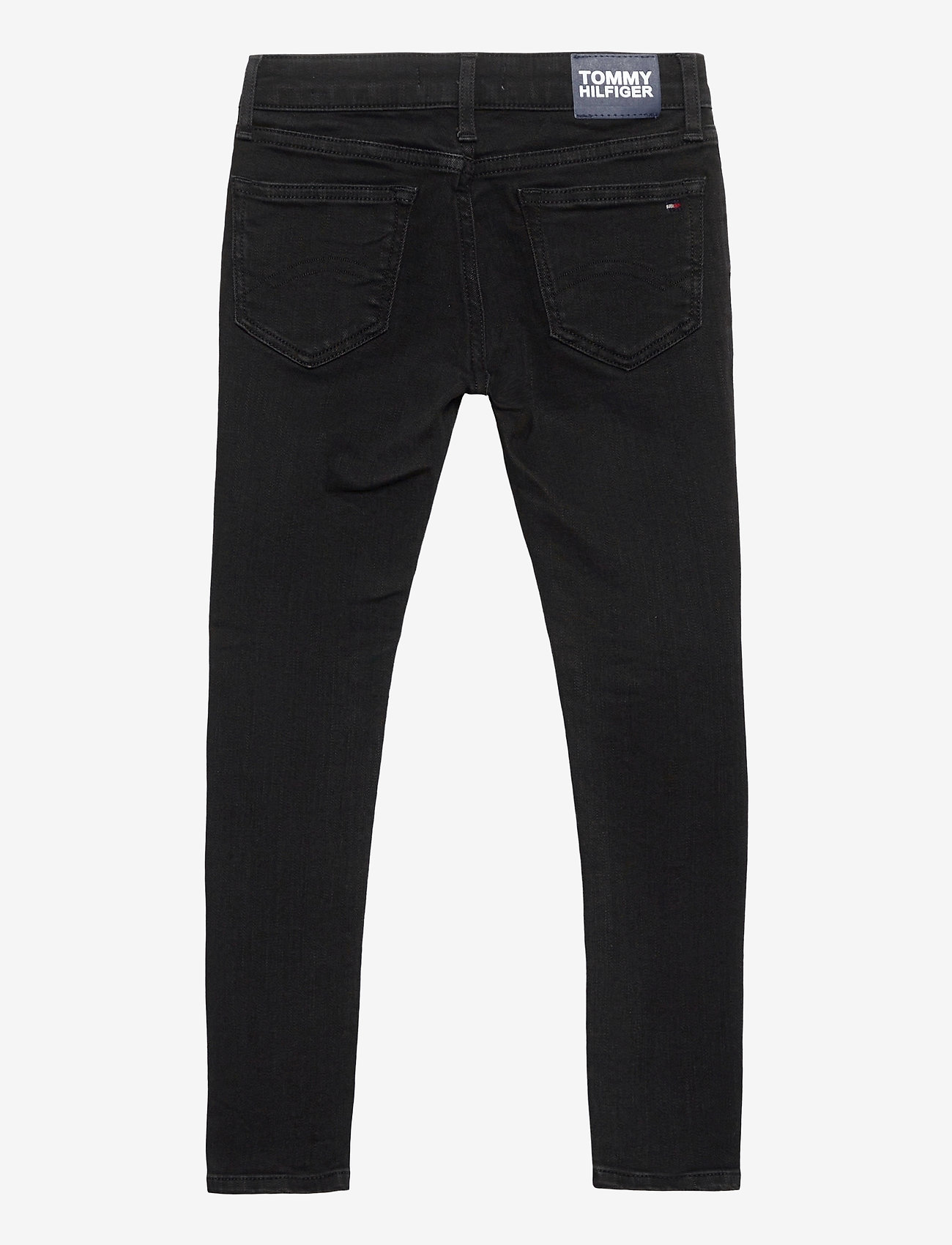 Tommy Hilfiger - NORA SUPER SKINNY WREPLBLS - jeans - waterrepellentblackstr - 1