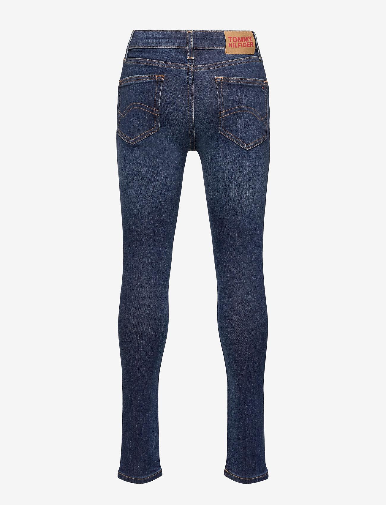 Tommy Hilfiger - NORA SUPER SKINNY DK - jeans - darkcobaltbluestr - 1