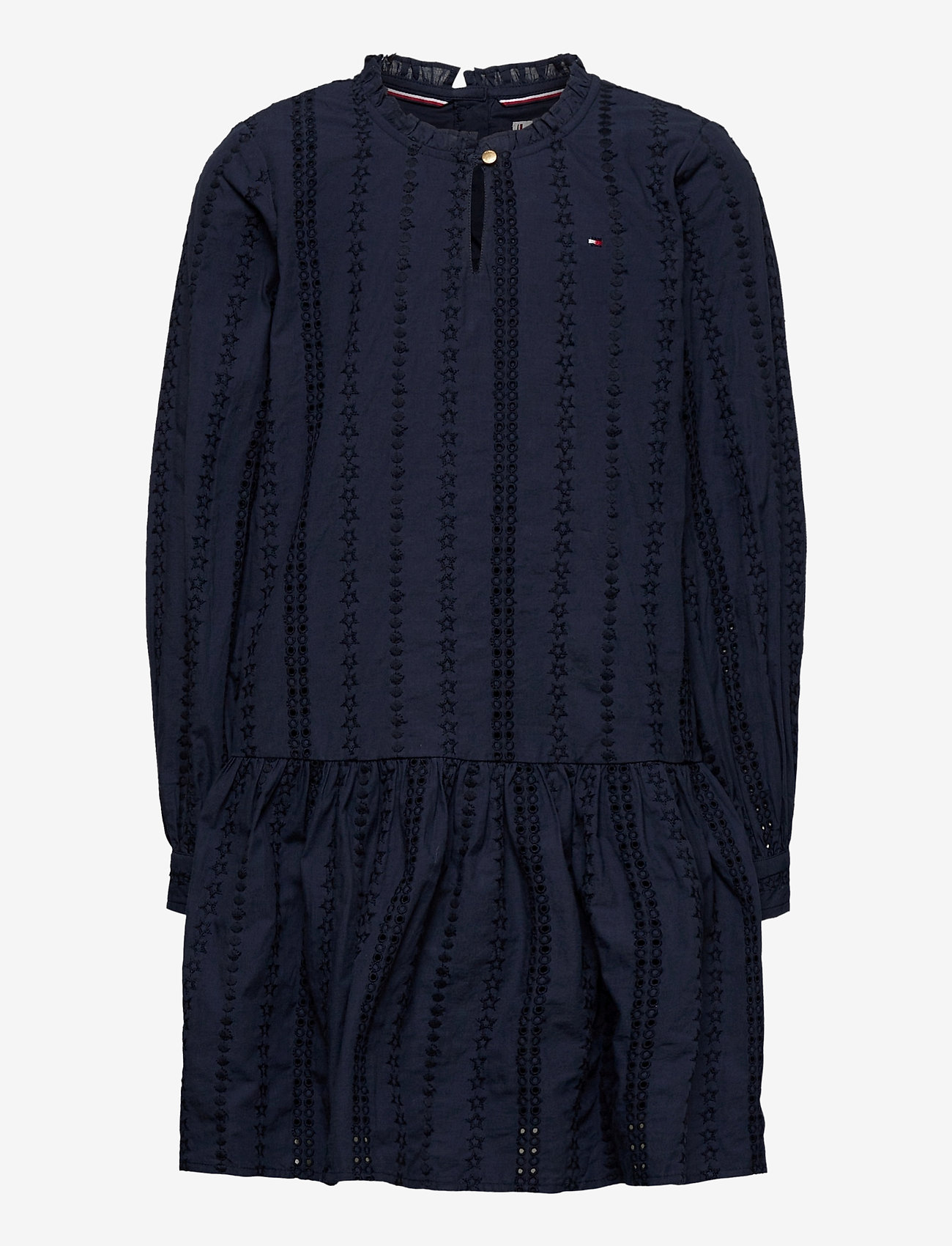 Tommy Hilfiger - EMBROIDERY ANGLAIS D - dresses - twilight navy - 0
